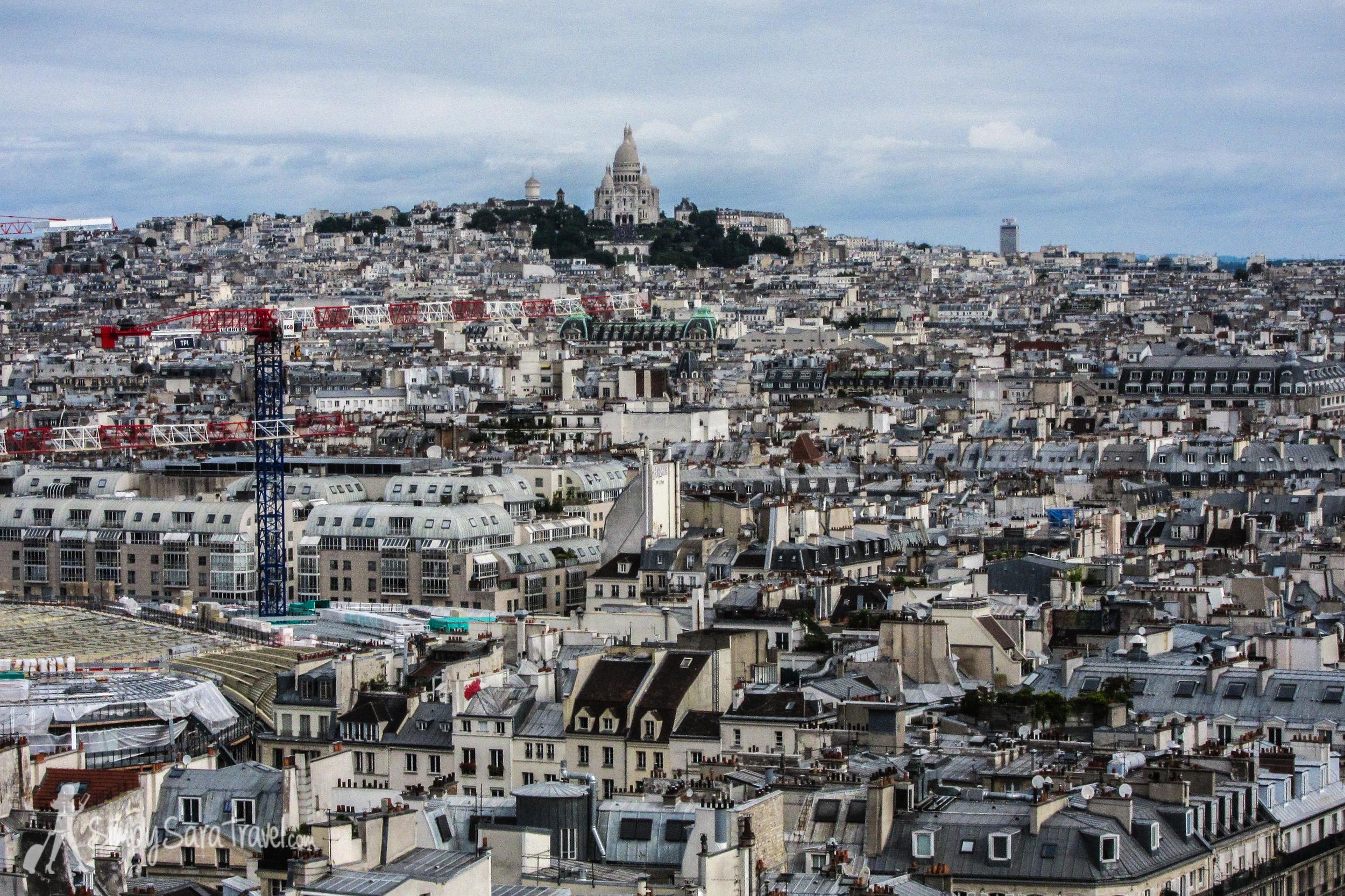 Sacré-Cœur in the distance