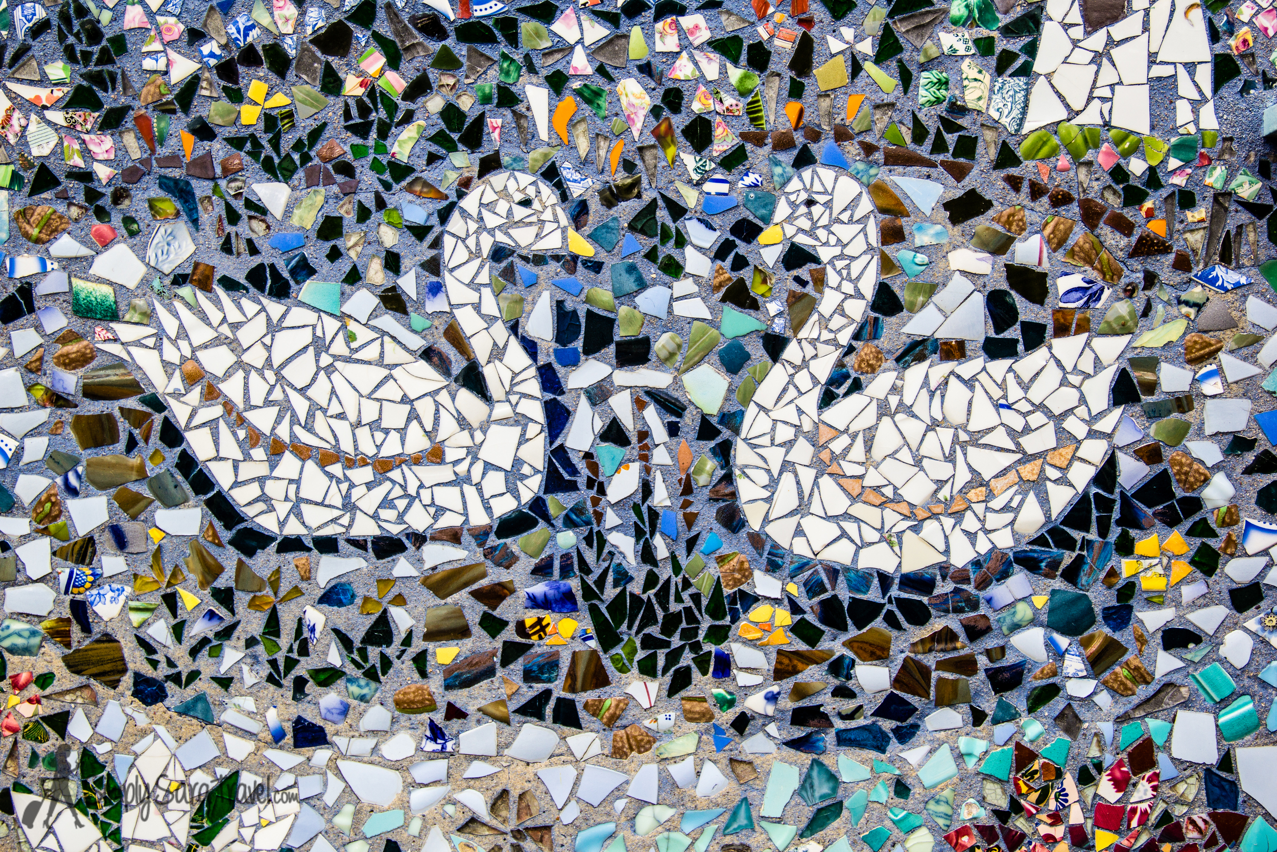 Find out where to find a house decorated entirely in mosaics this week!