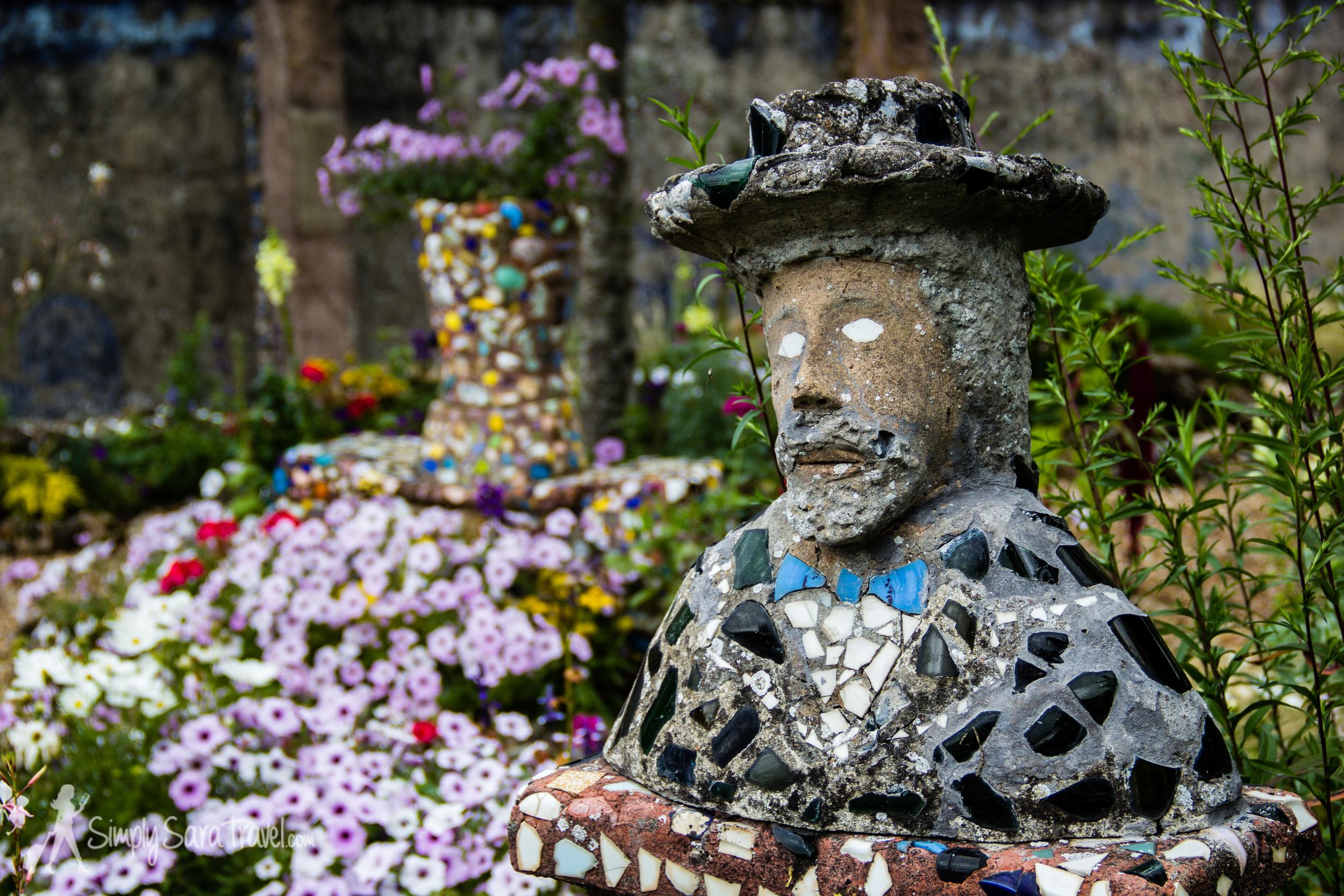 Sculpture in the garden of La Maison Picassiette