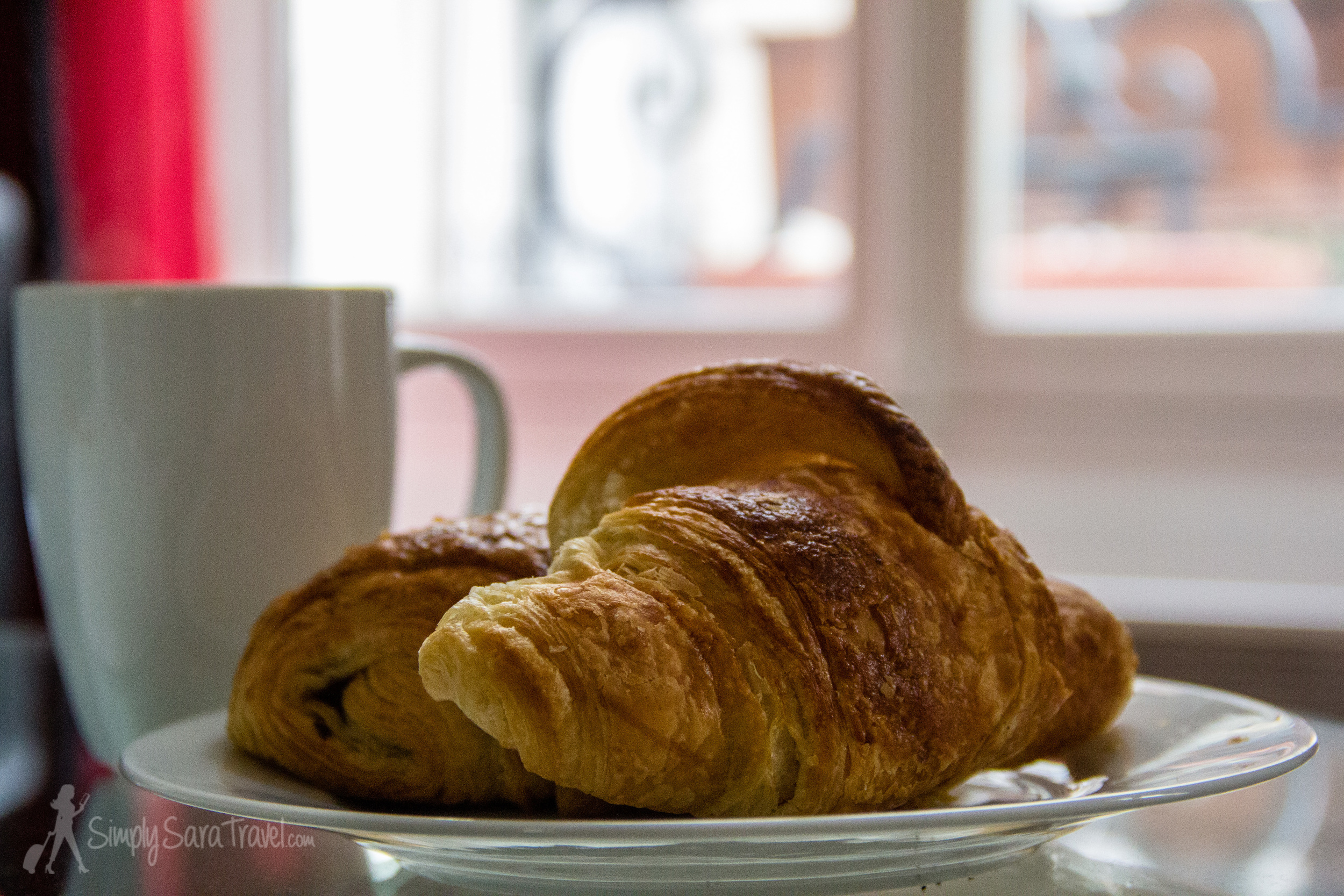 There's nothing like a French croissant, fresh out of the oven!
