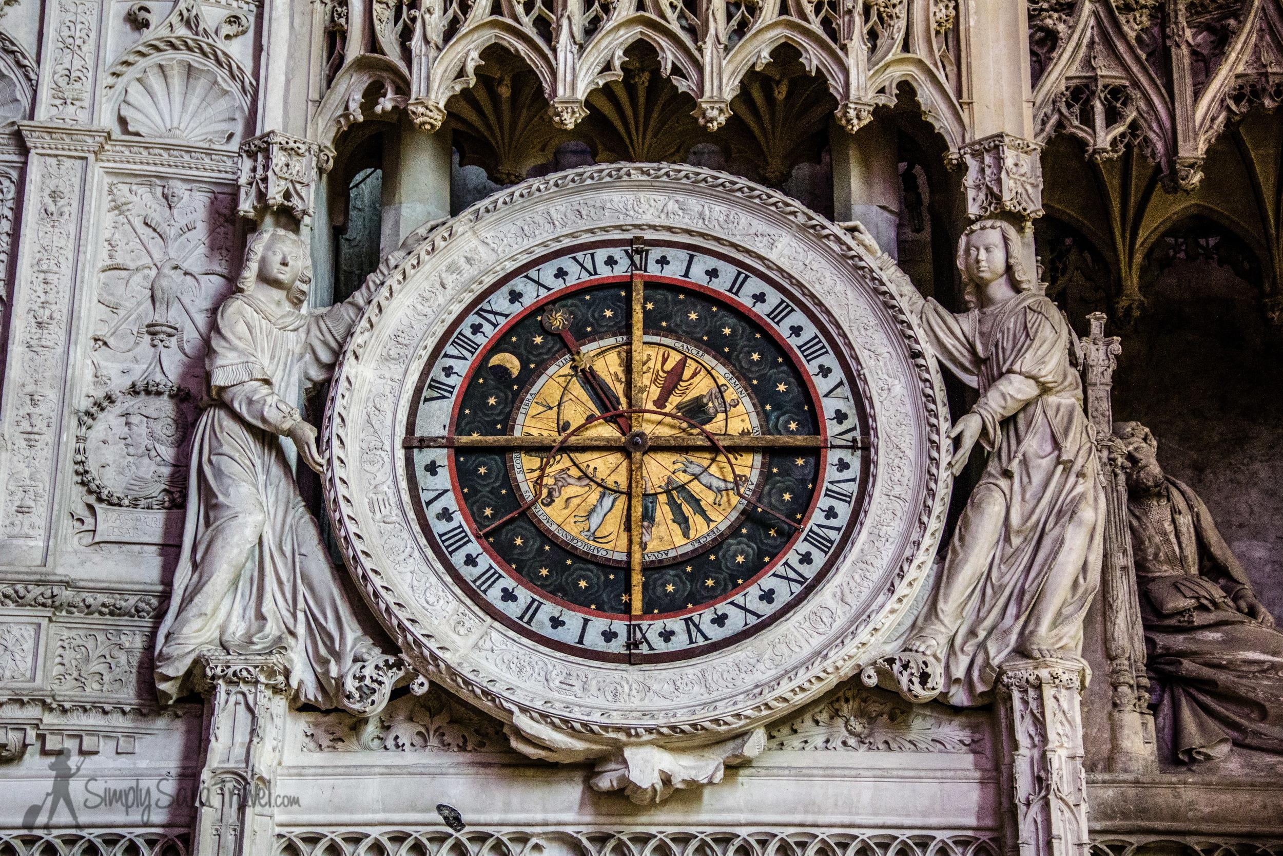 16th centuryAstrological Clock in the choir screen