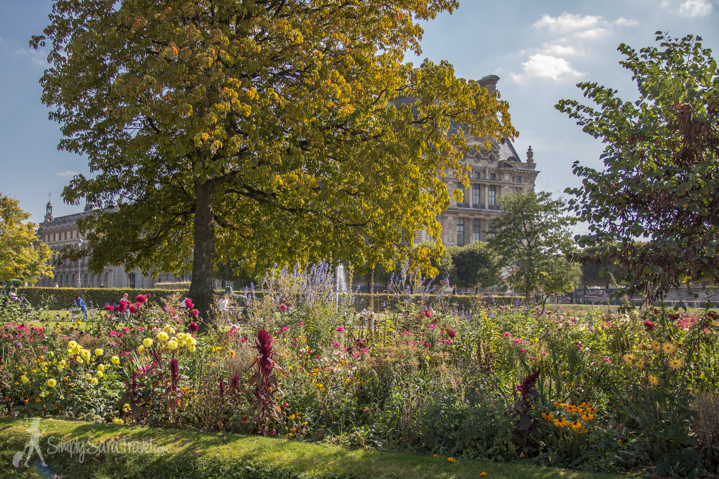 A September day in the Jardin des Tuileries