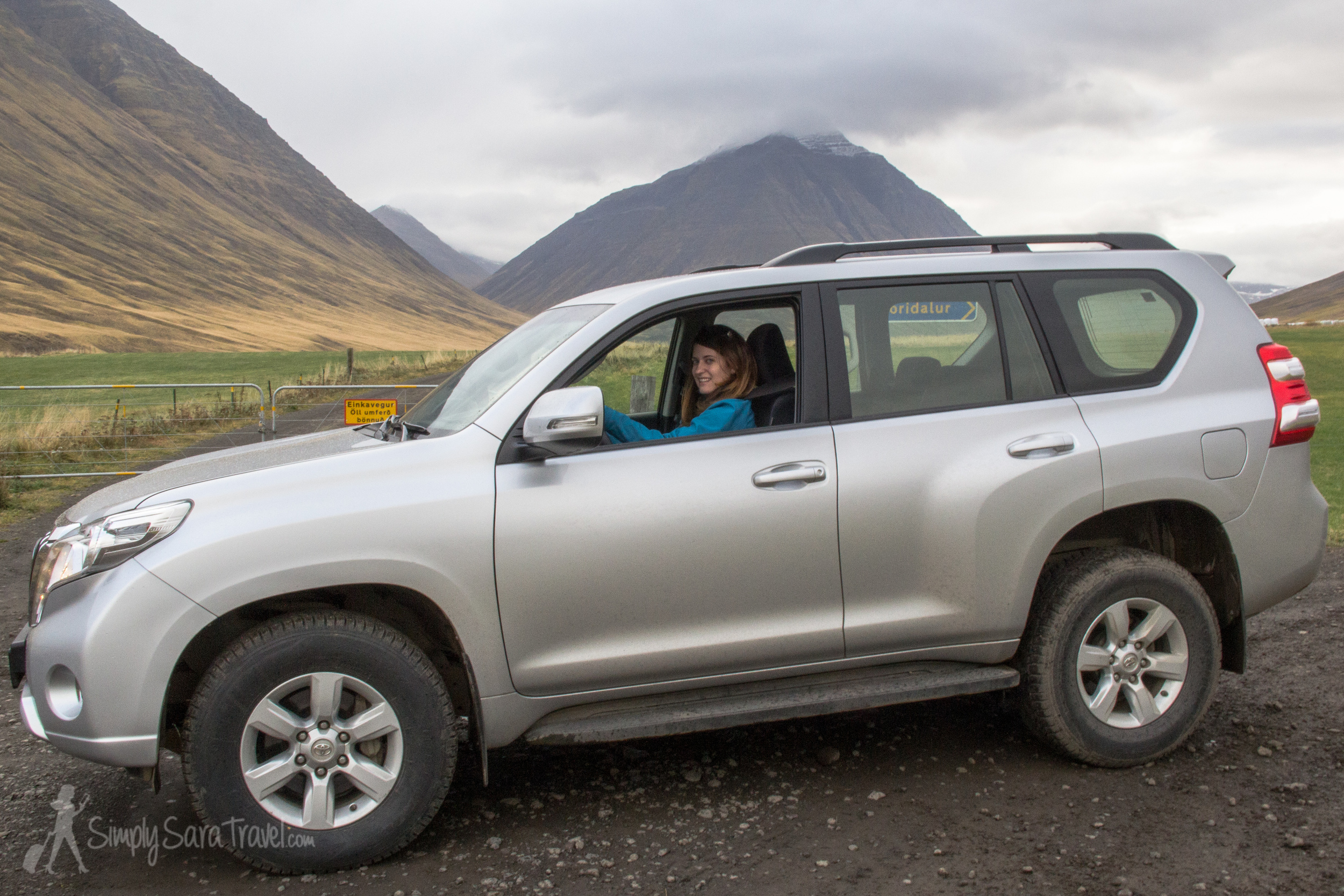 At least if I have to drive a big vehicle, I'm doing it on the open roads of Iceland and not the tiny, tight roads of France!
