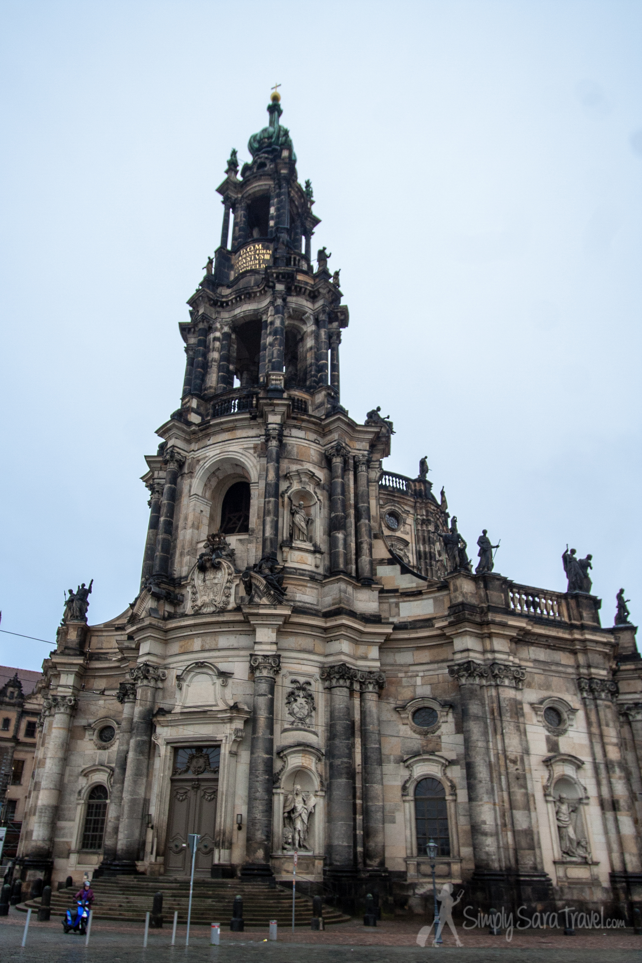 The Christmas markets attracted us to Dresden, Germany and had it not been for that, we probably wouldn't have taken the time to add thislovely city to our travel itinerary! (Pictured above: the Dresden Cathedral, known as  Katholische Hofkirche)