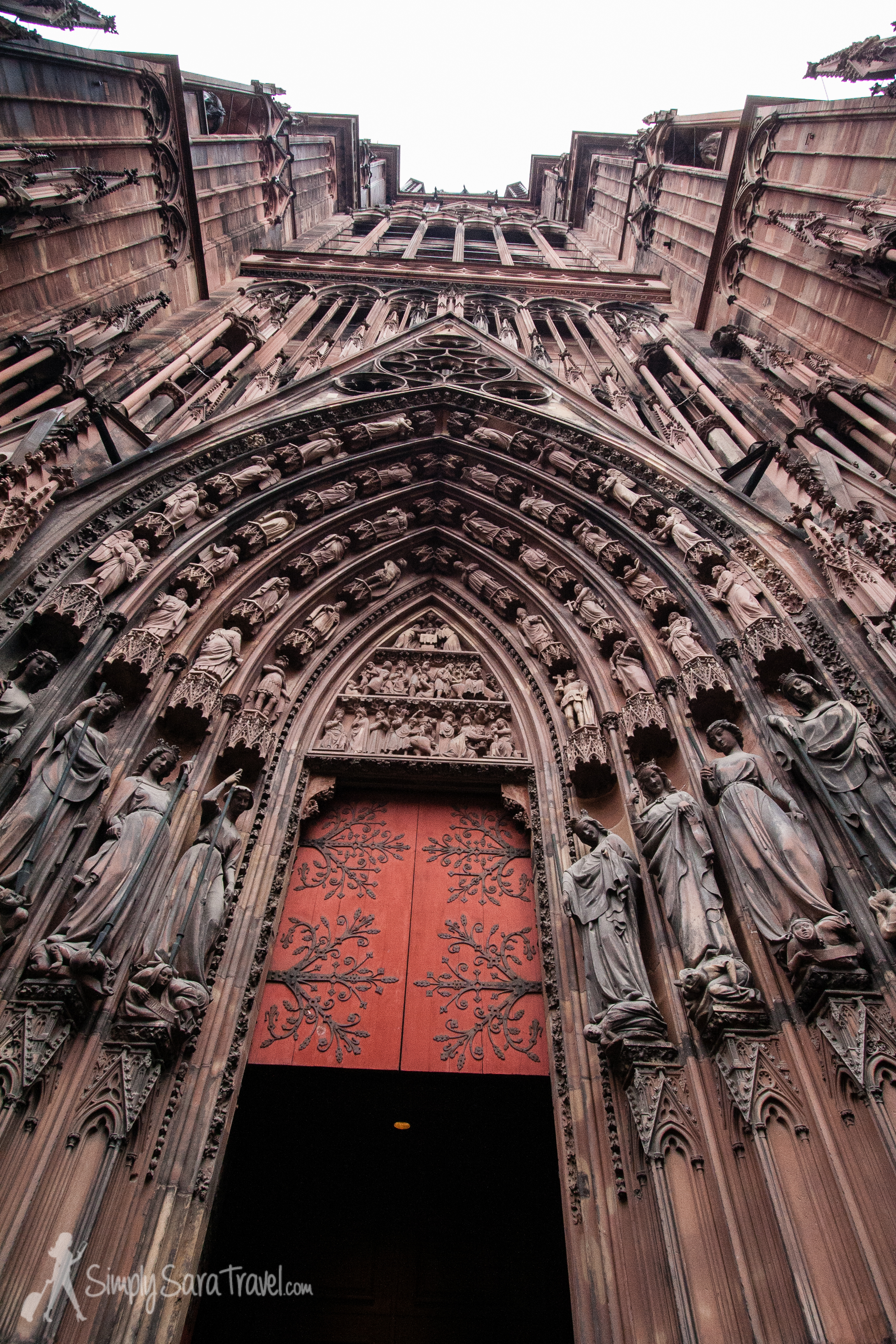 The Cathedral of Strasbourg, France