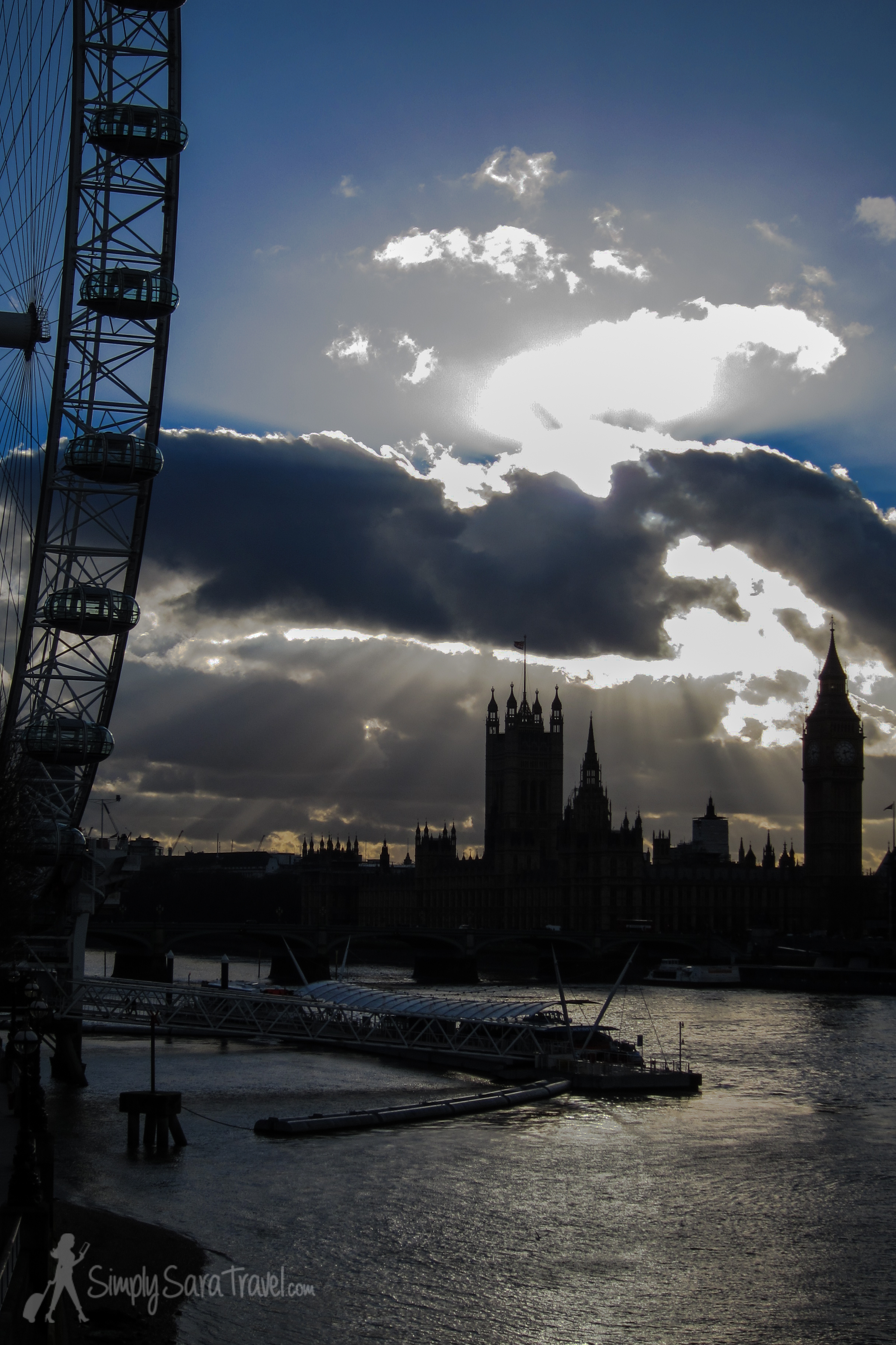 London - even beautiful in the bleak winter days of January