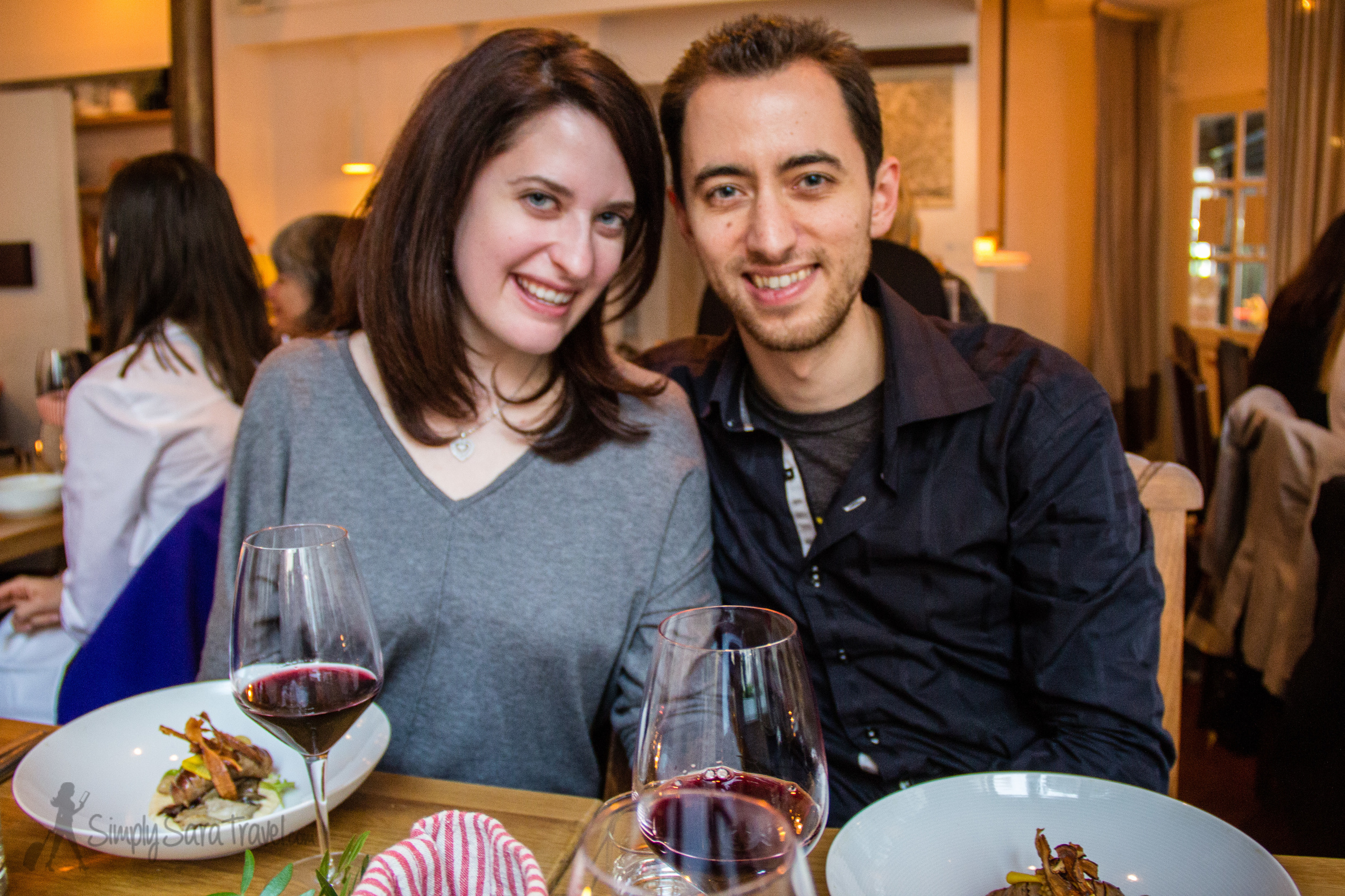 Dinner at  Verjus  is reserved for special occasions - the tasting menu is just under 70 euros per person. But it is always incredible, and who better to share it with than my foodie little brother?