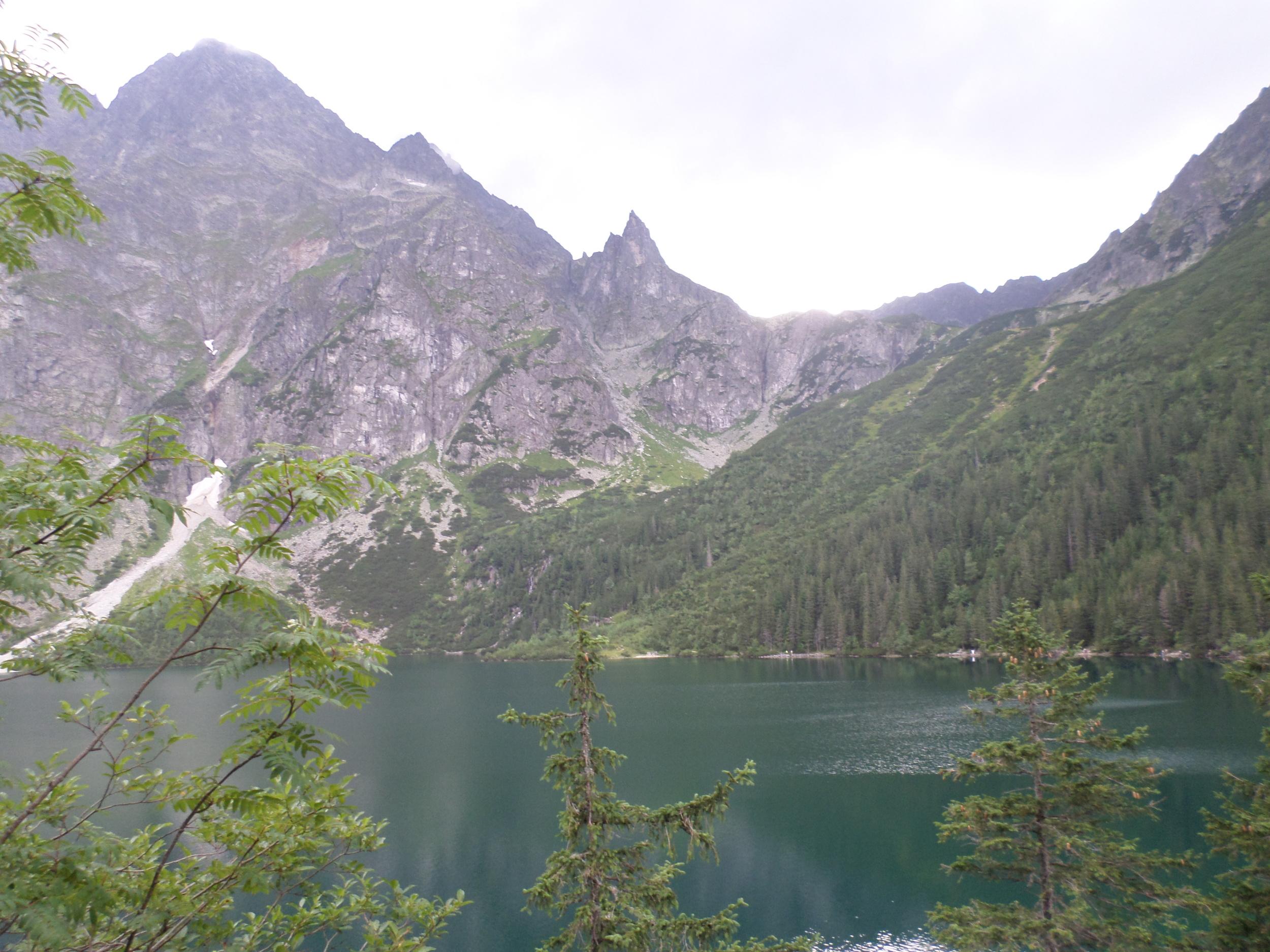 Lake at Zakopane, Poland