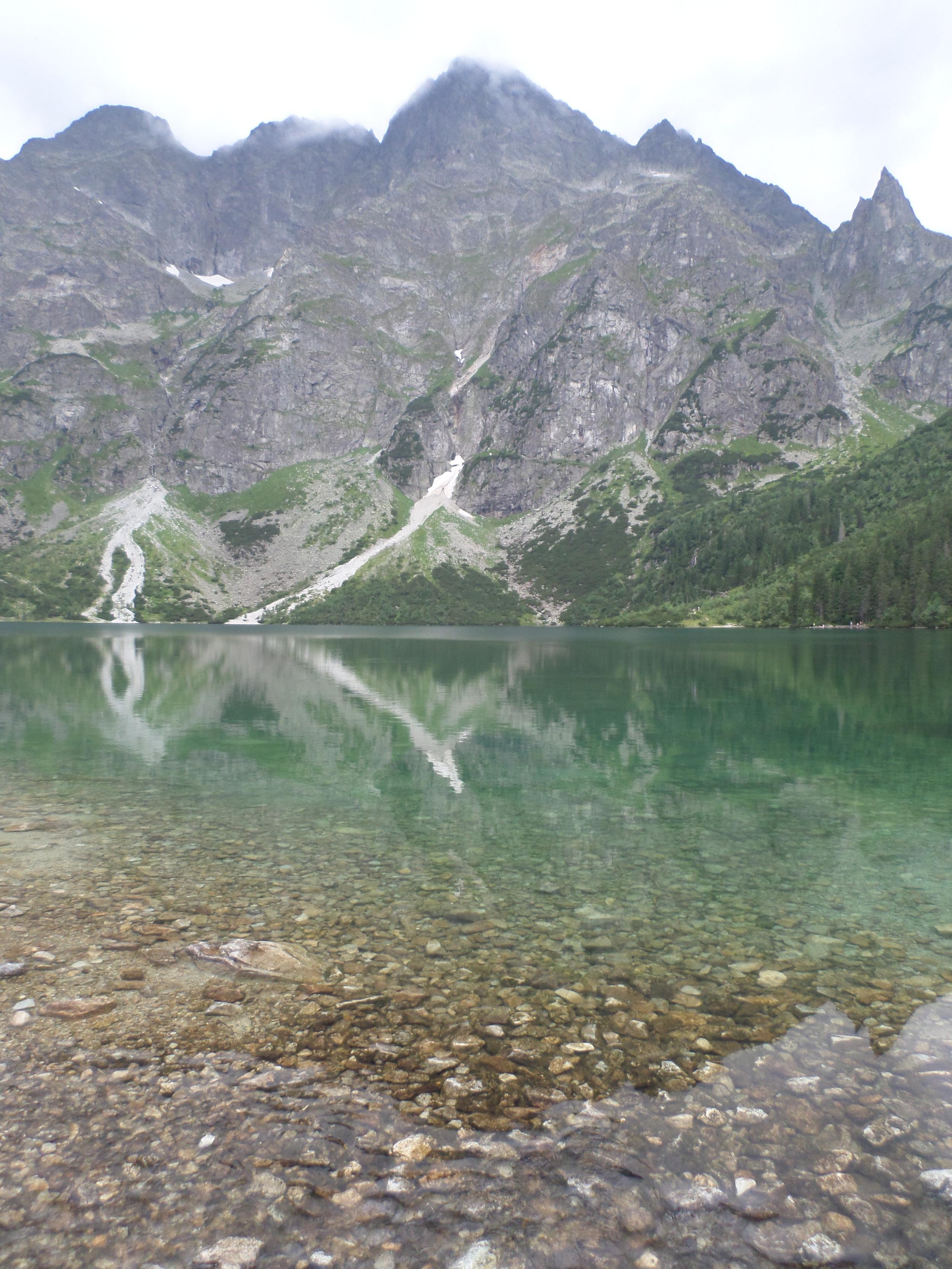 Hiking in Zakopane, Polandwith a view of theTatra Mountains