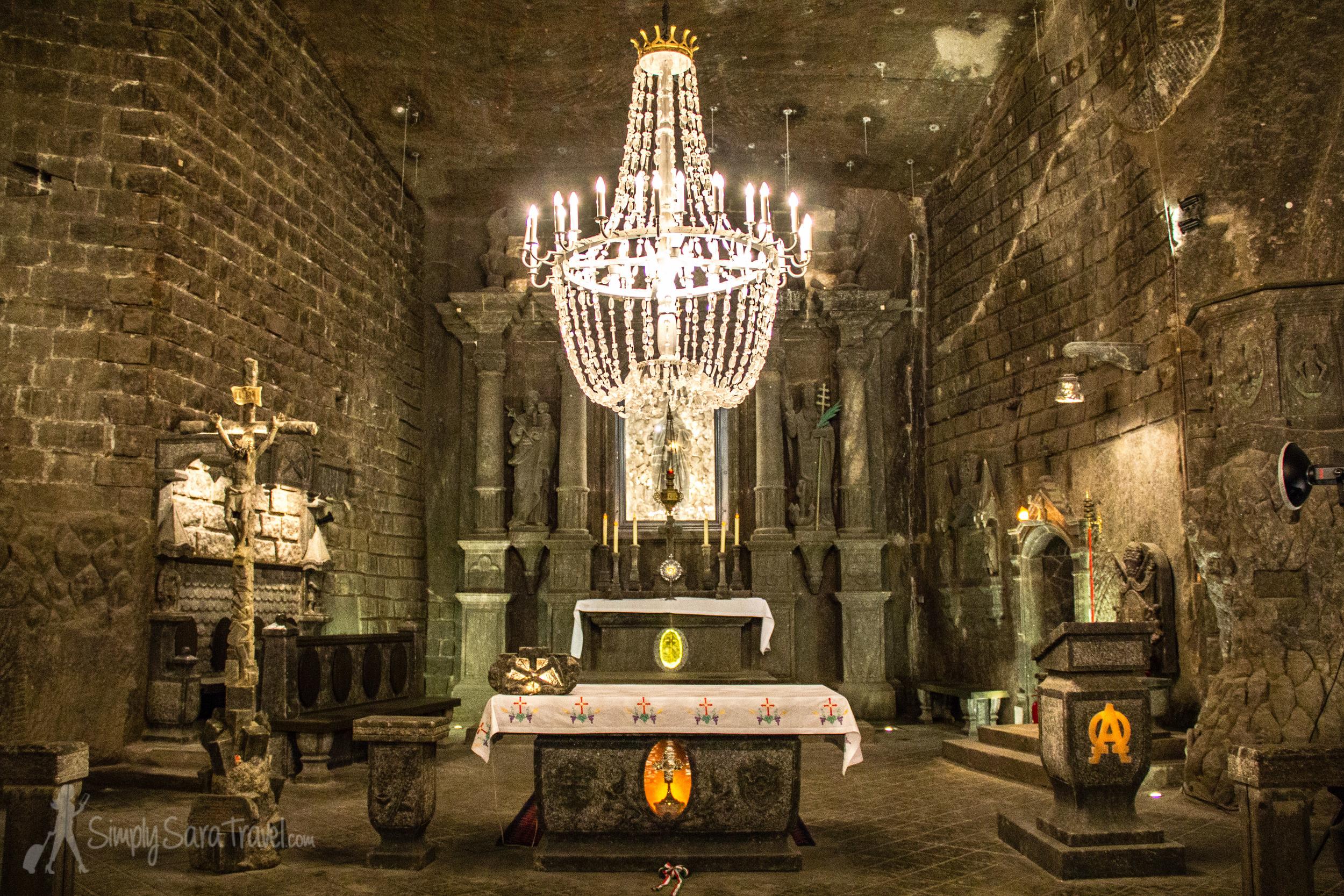 101 meters underground lies this wonder - the St. Kinga Chapel