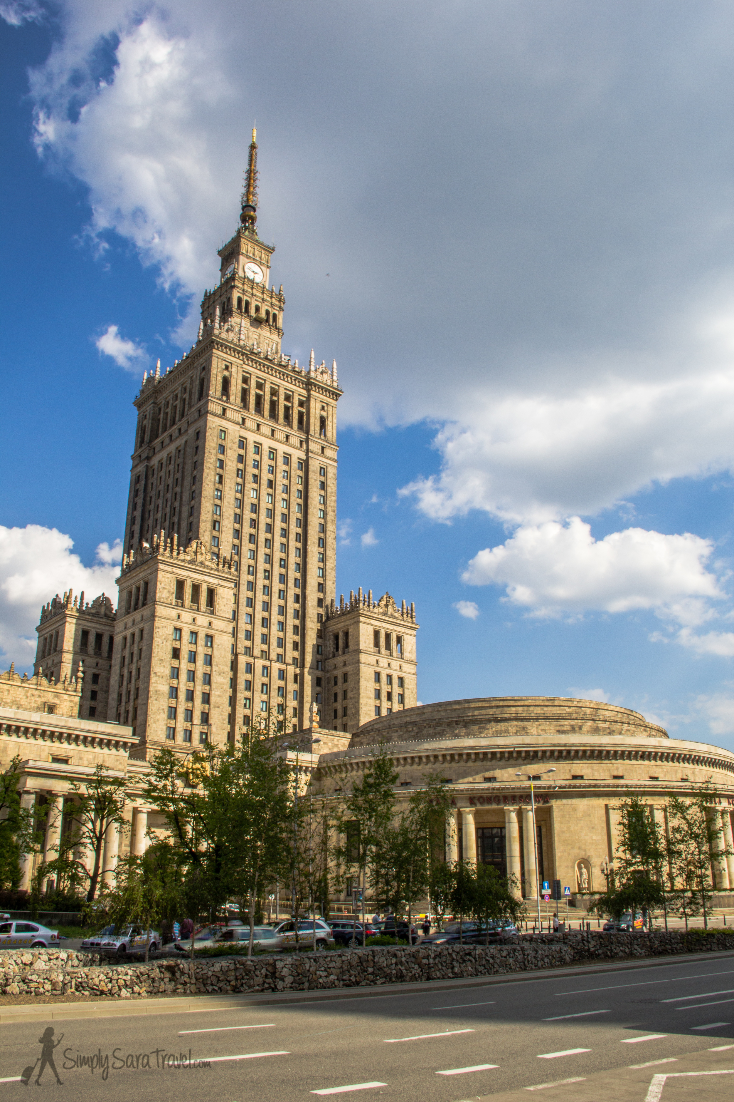 ThePalace of Culture and Science, Warsaw