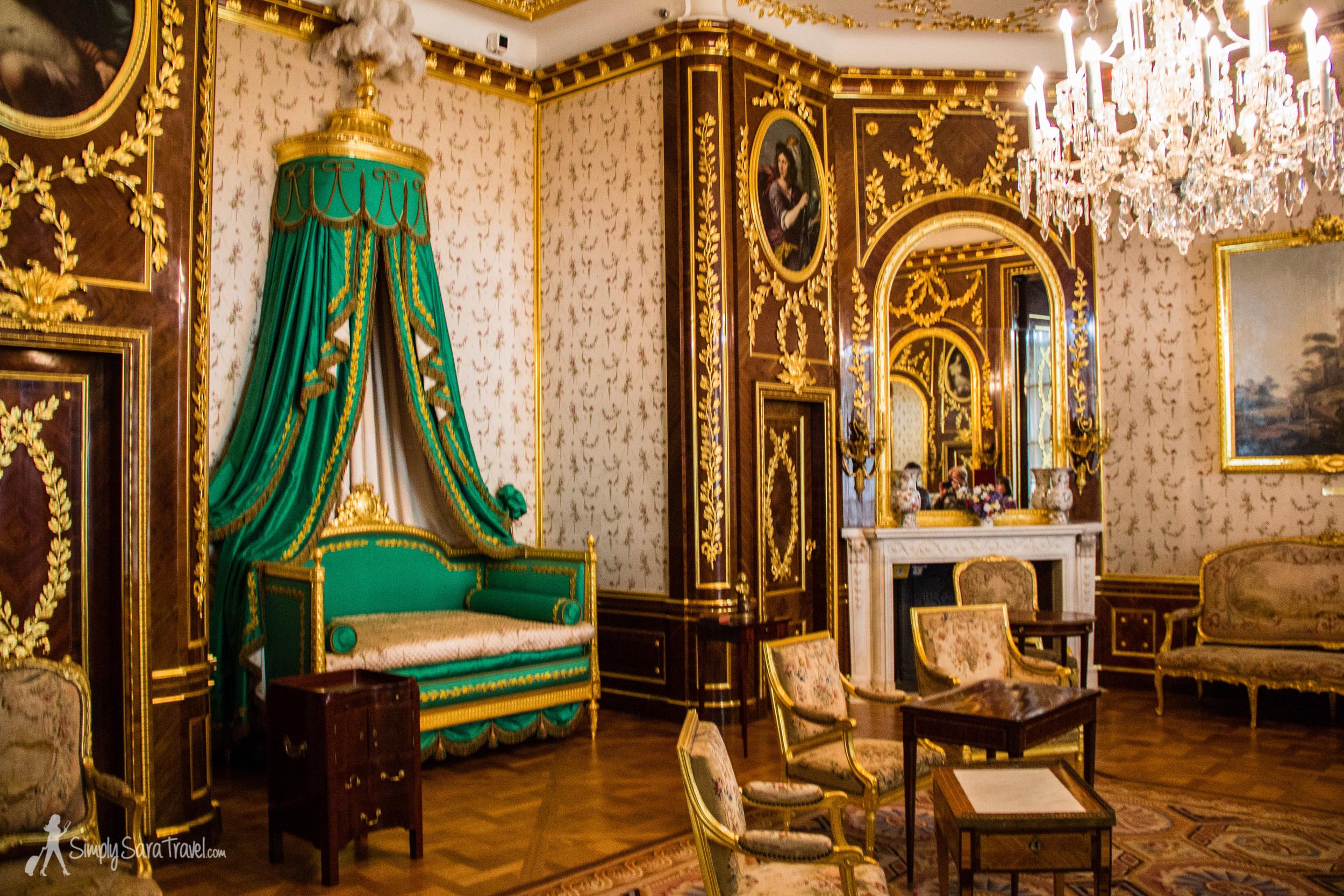 Inside the Royal Castle in Warsaw