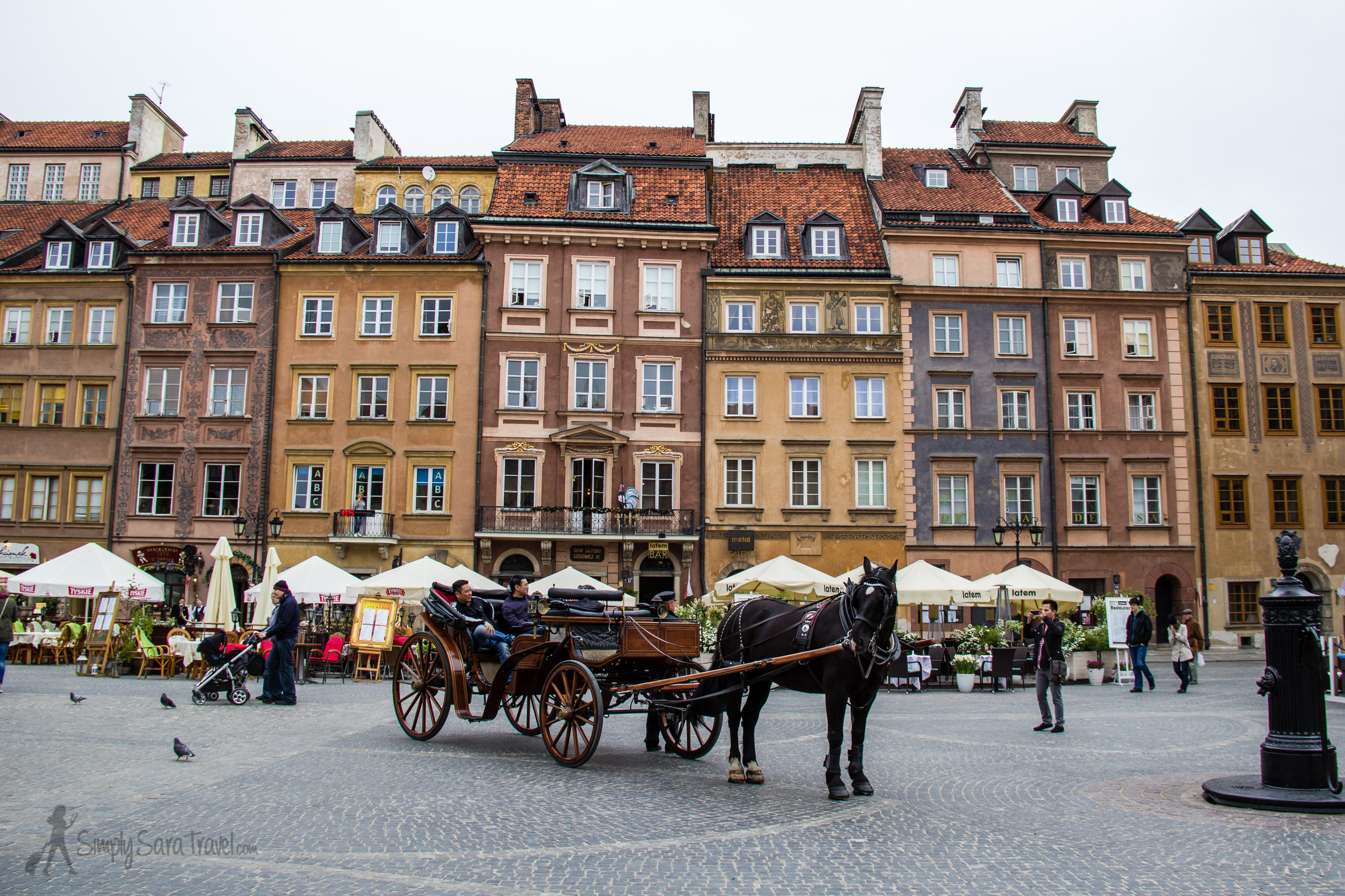 Warsaw's Old Town may be rebuilt, but it's as charming as ever!