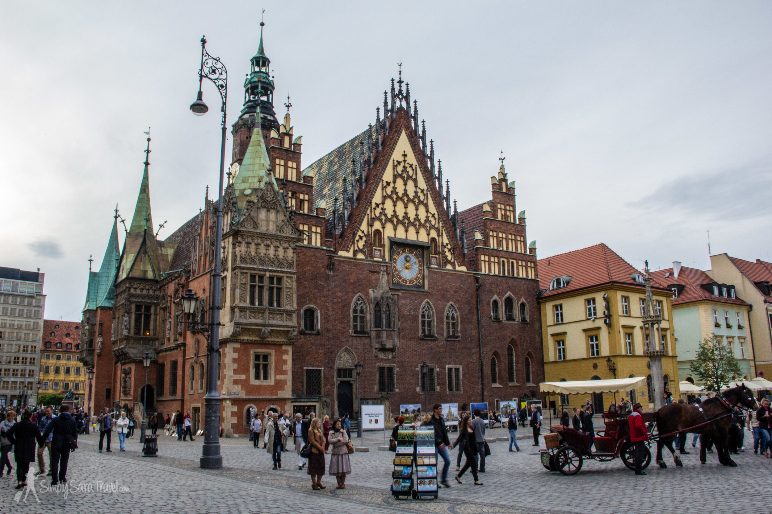 Town Hall of Wroclaw, Poland