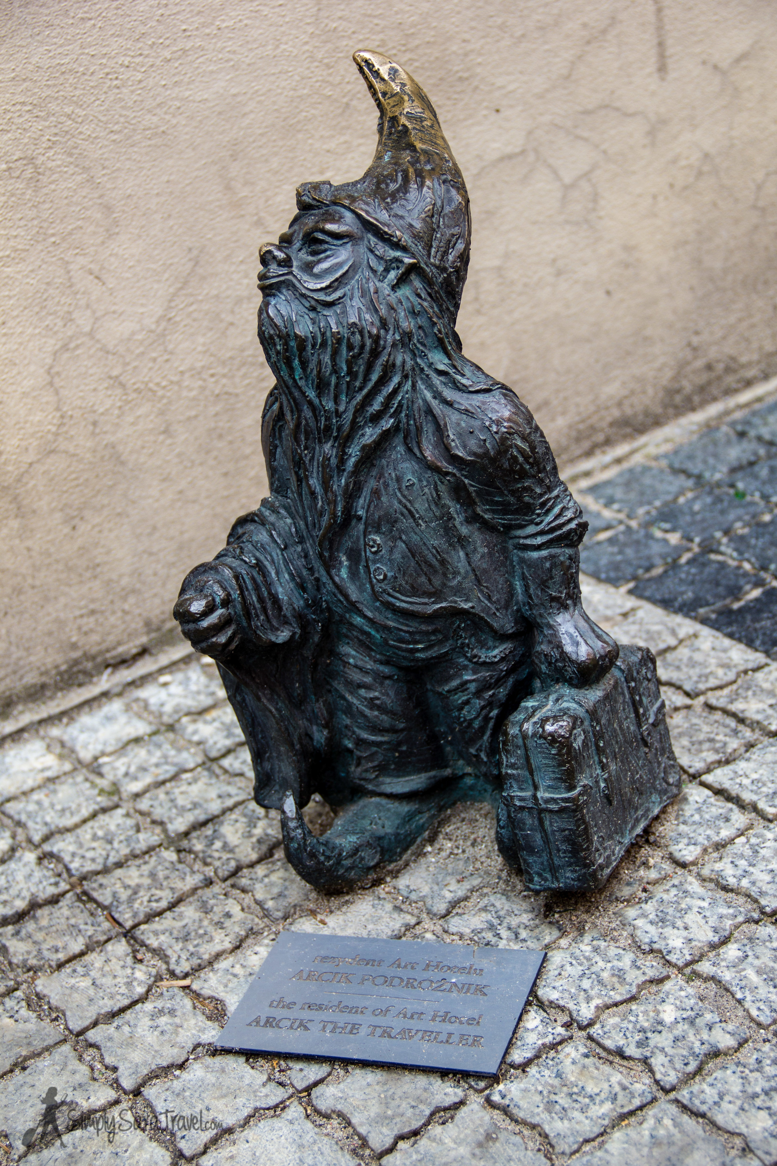 Time to pack your bags and get to Poland! (Yup, these little  gnomes  can show up anywhere!)