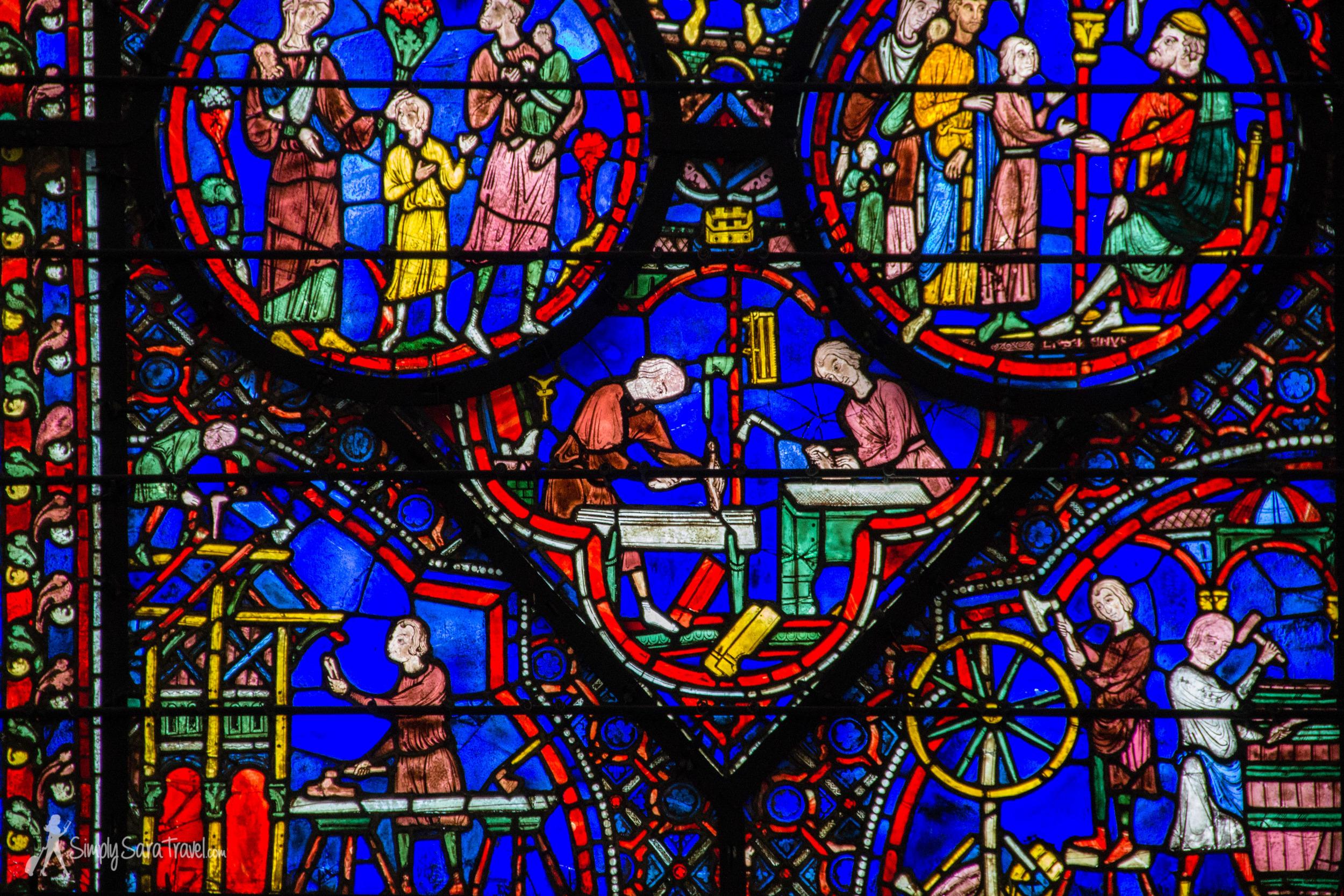 Chartres wondow