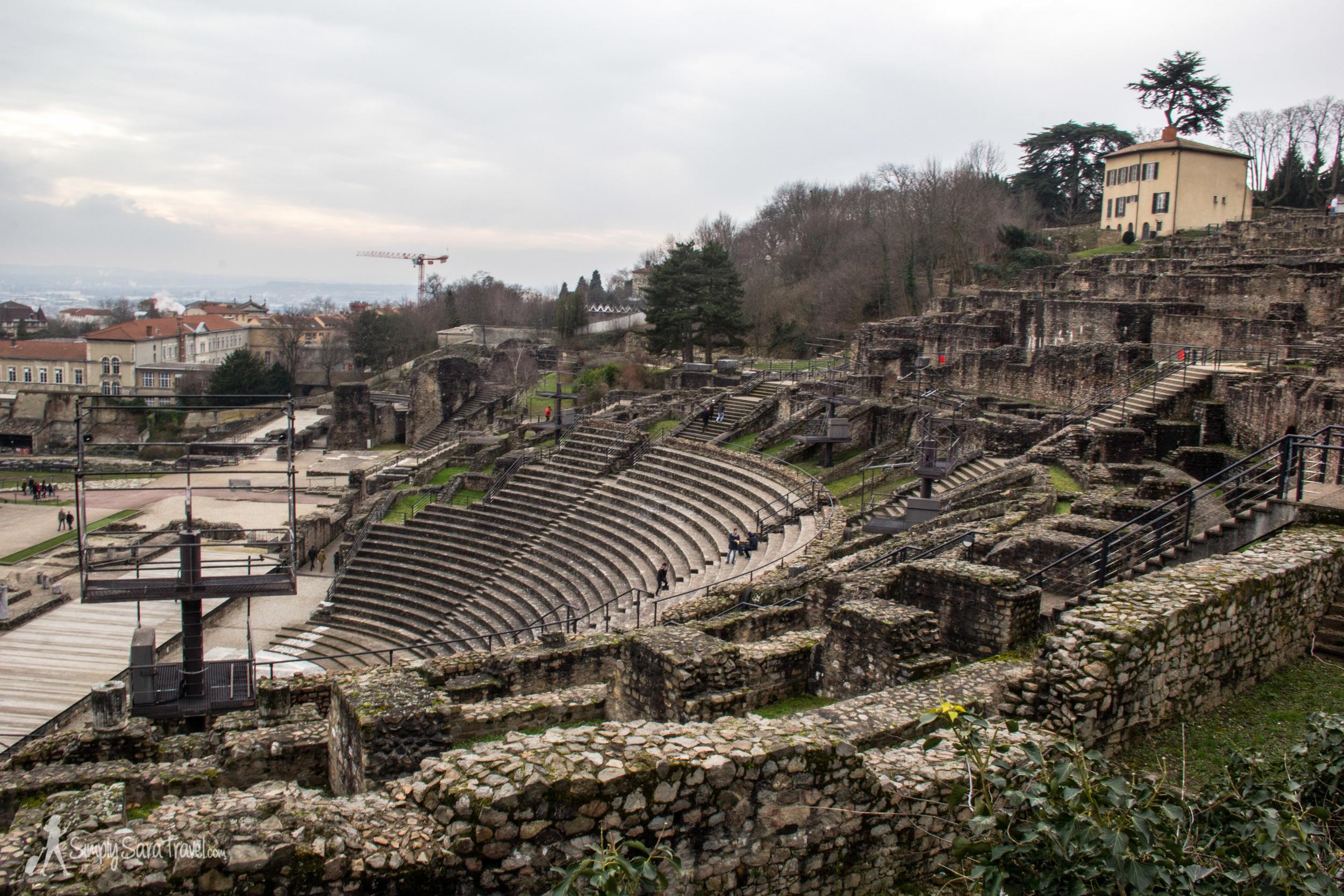 Lyon Roman ruins