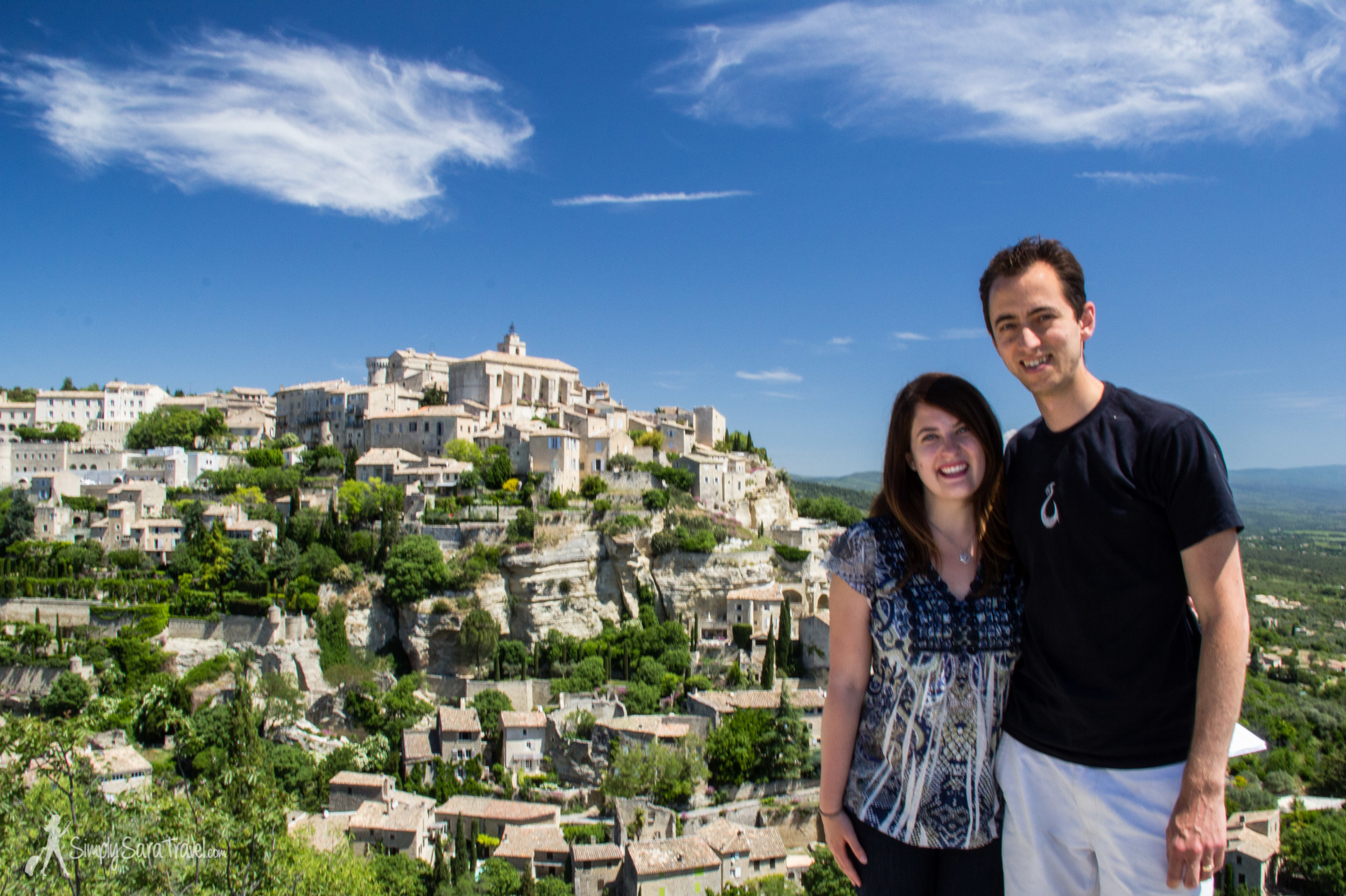 More to come on our month-long adventure through France! Here we are, celebrating our 12 year dating anniversary in the adorable town of Gordes, France - a place I never dreamed we would be together 12 years prior!