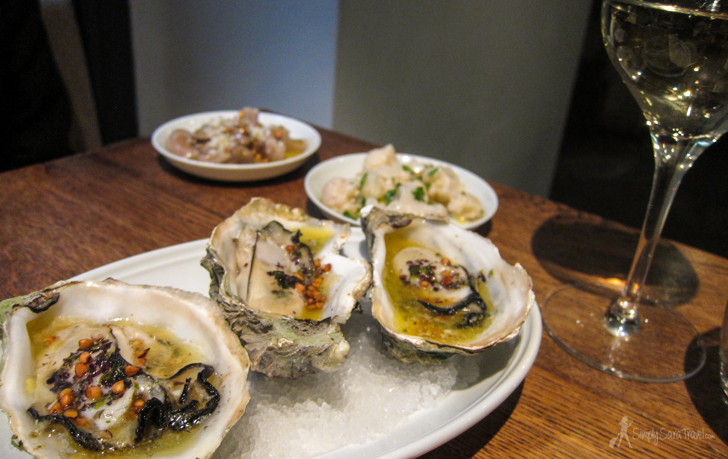 The best oysters I have ever eaten, right here at Spring.
