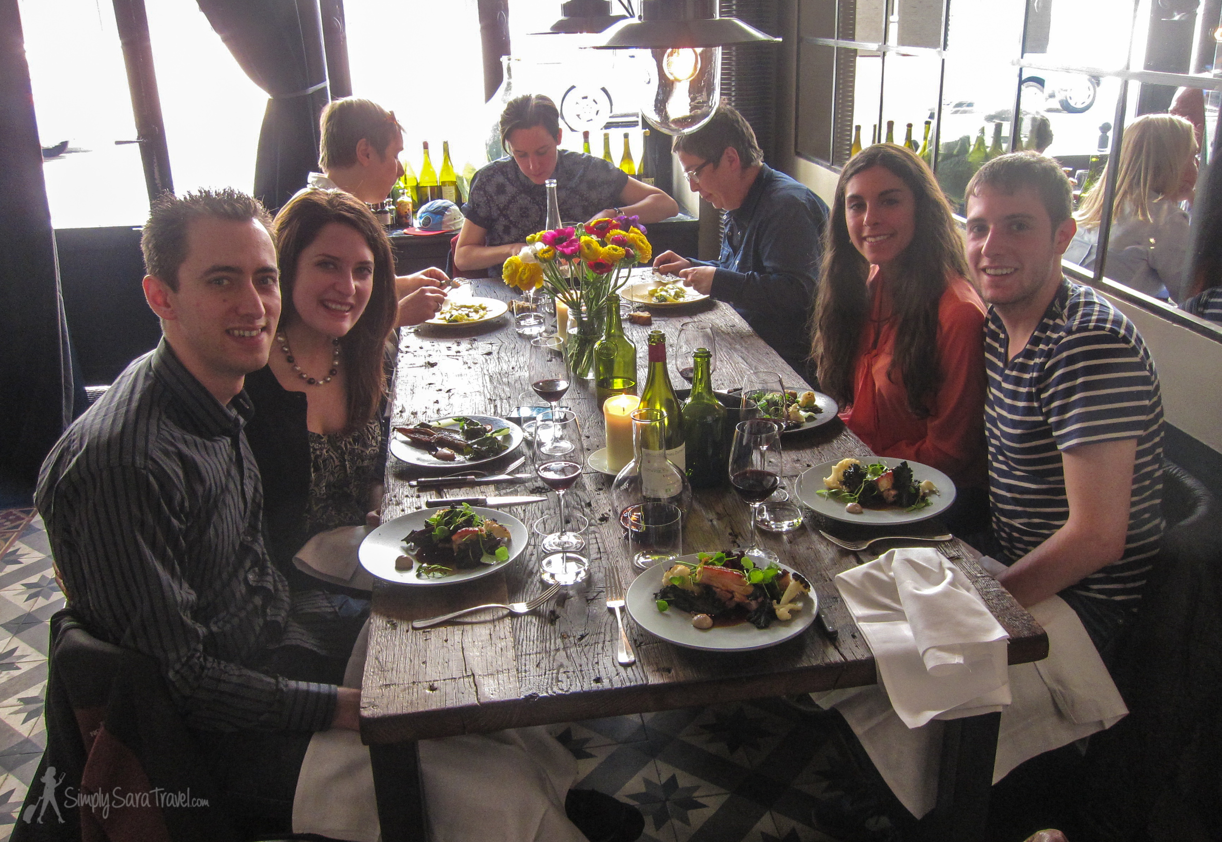 Lunch at Septime, Paris, France
