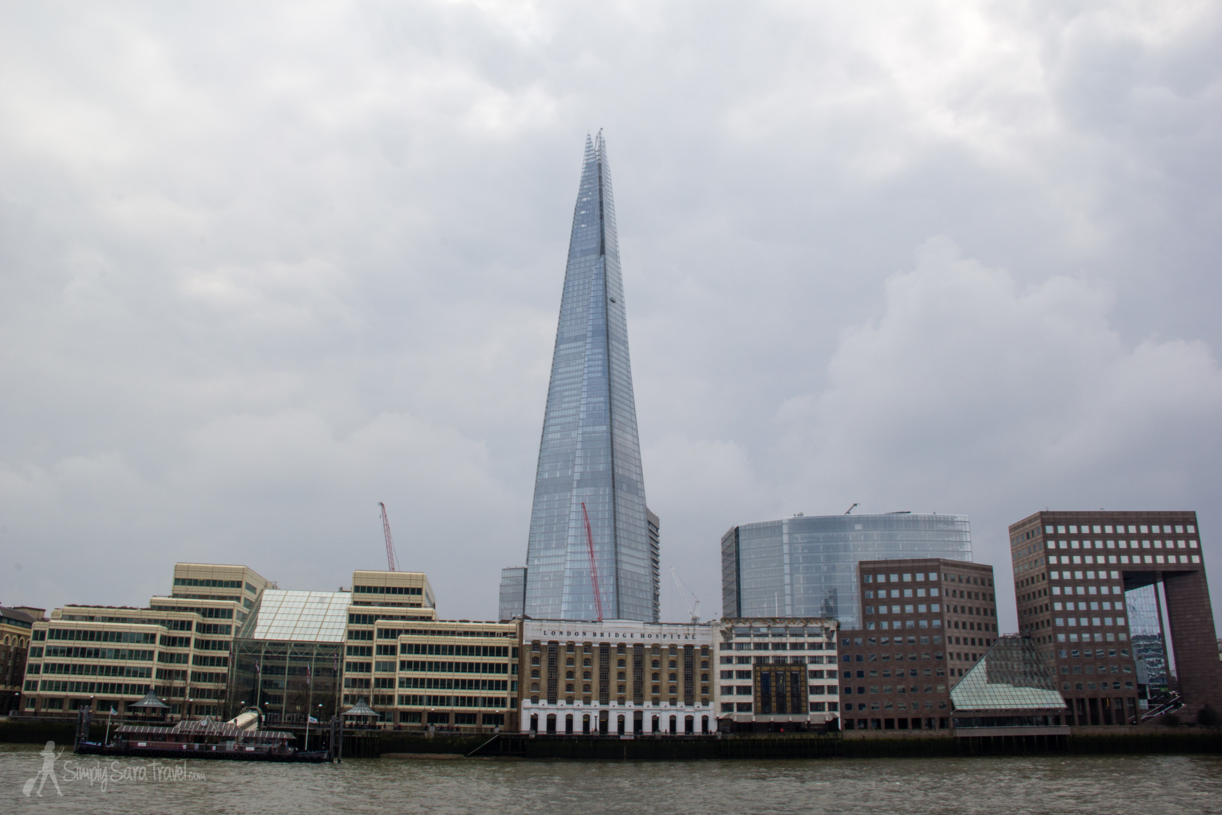 "As I started pointing out London landmarks like the Shard, I started realizing just all the quirky nicknames that the English call their buildings by. The ""cheesegrater,"" the ""walkie talkie"" - so many funny gems line the skyline!"