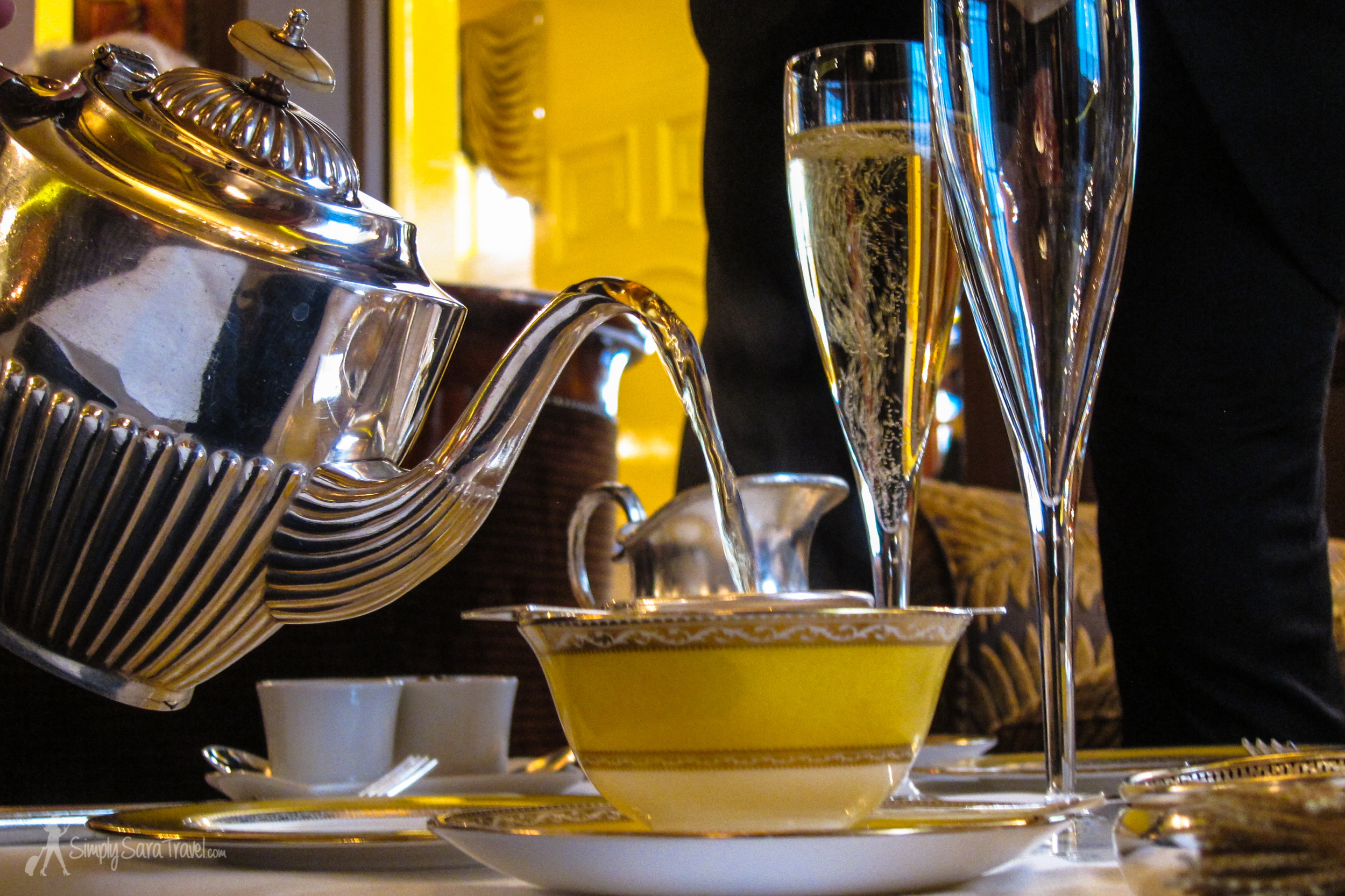 Afternoon tea can be a game-changer for the staunchest of coffee-lovers...and besides, there are other beverage options if you do it right.