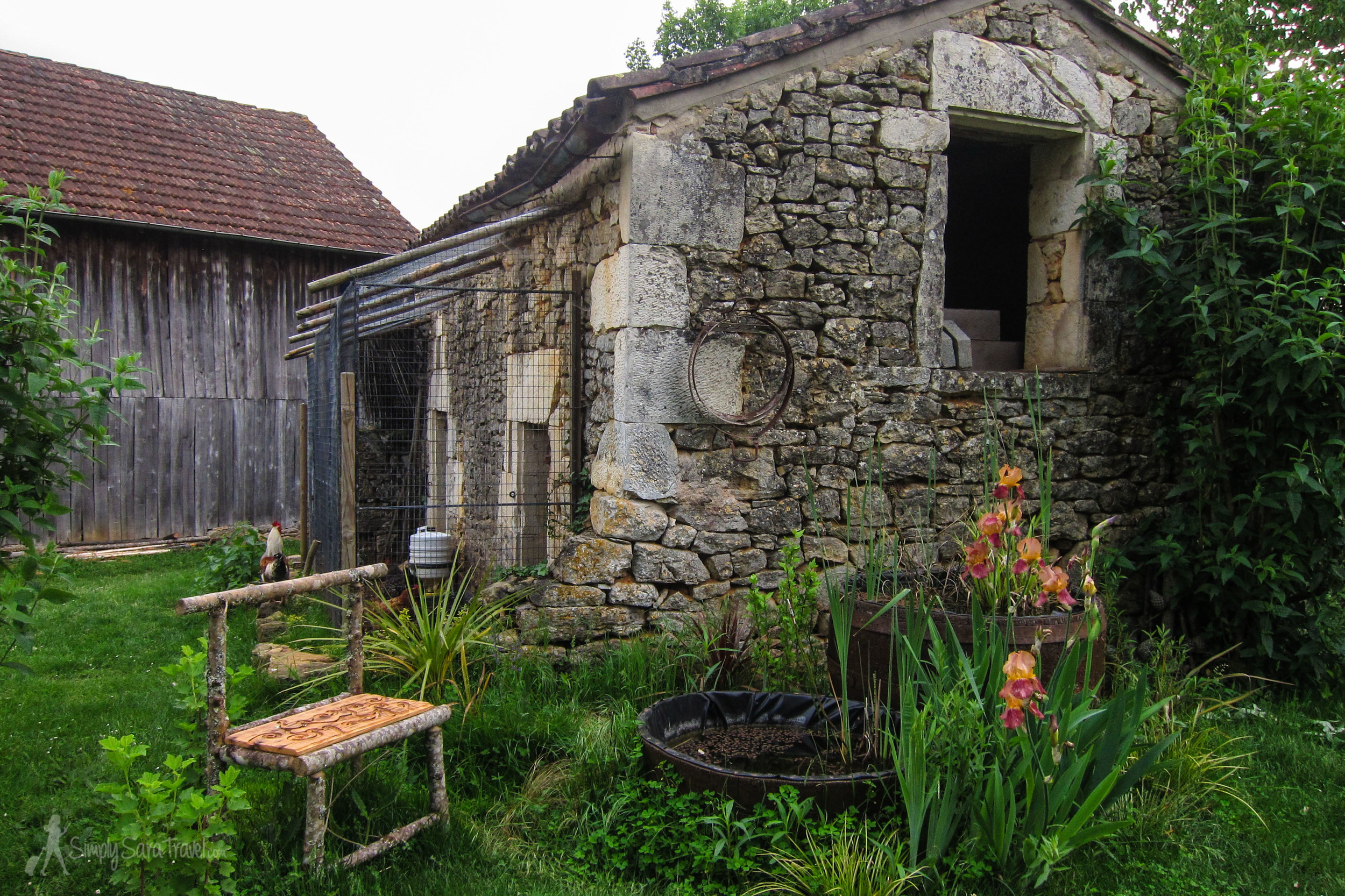 Part of the French farm we stayed on in Dordogne