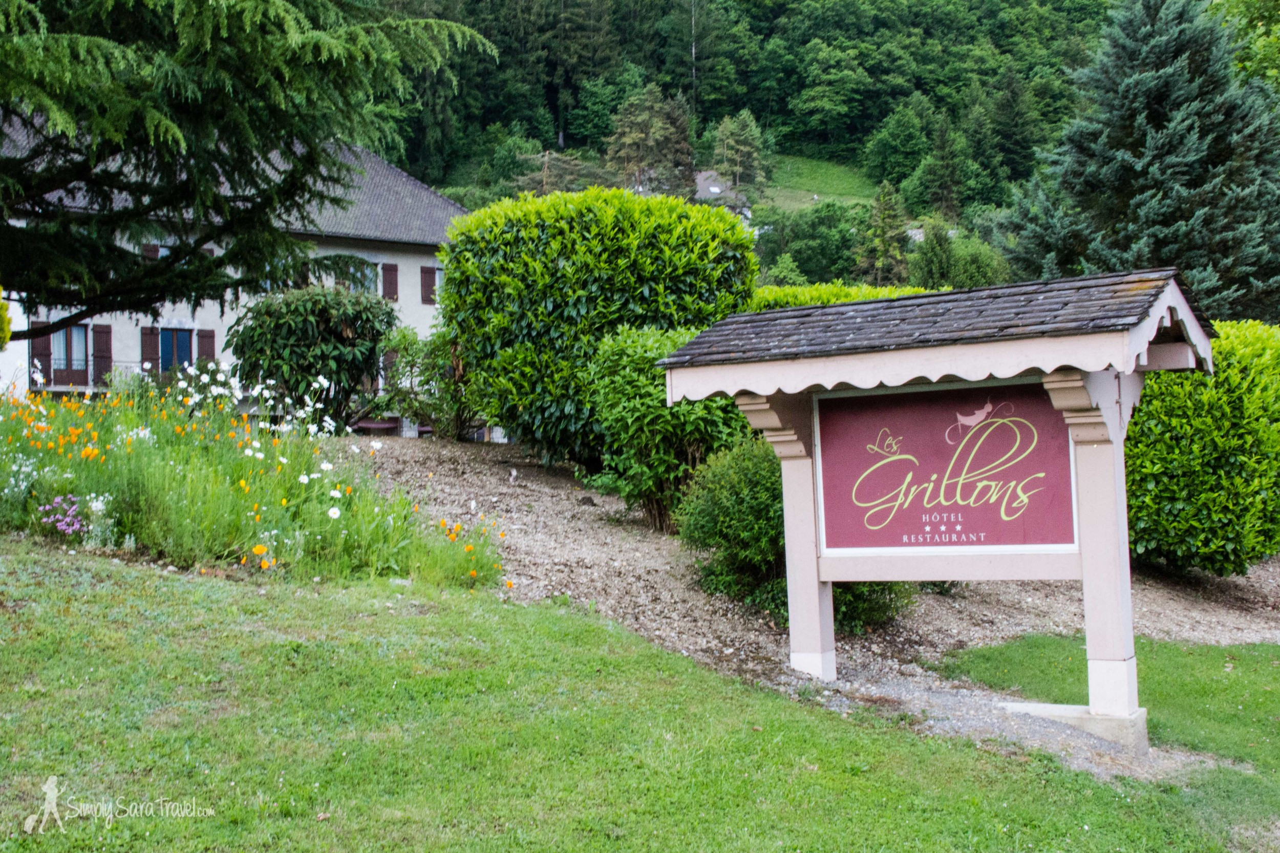 Hotel Grillons near Annecy, France
