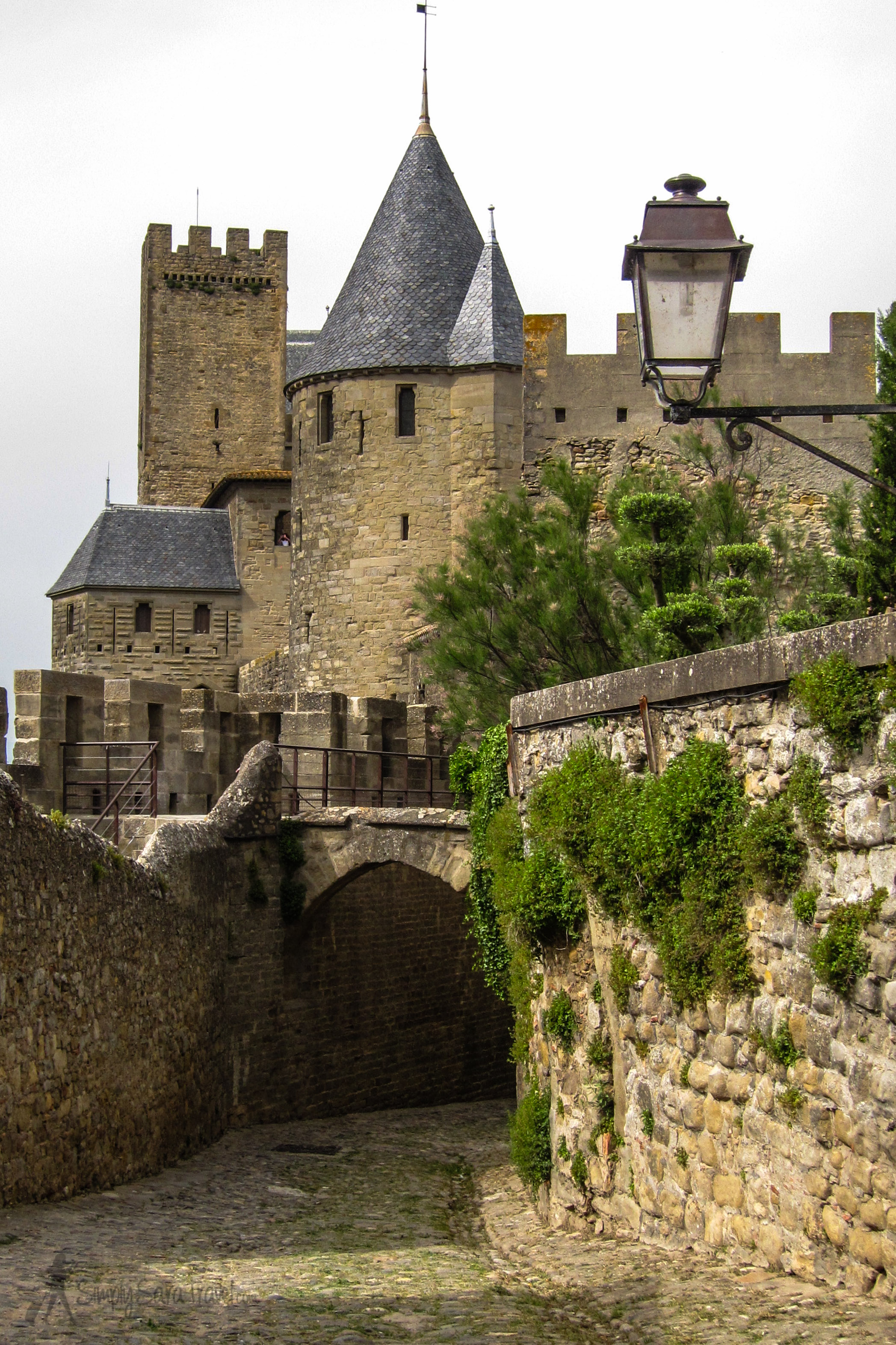 "Most notable of the fortresses visited has to be iconic Carcassonne. It's as if those medieval builders subscribed to the good 'ole American ""supersize me"" mentality, and its UNESCO status and grand stature make it one of France's top tourist attractions."