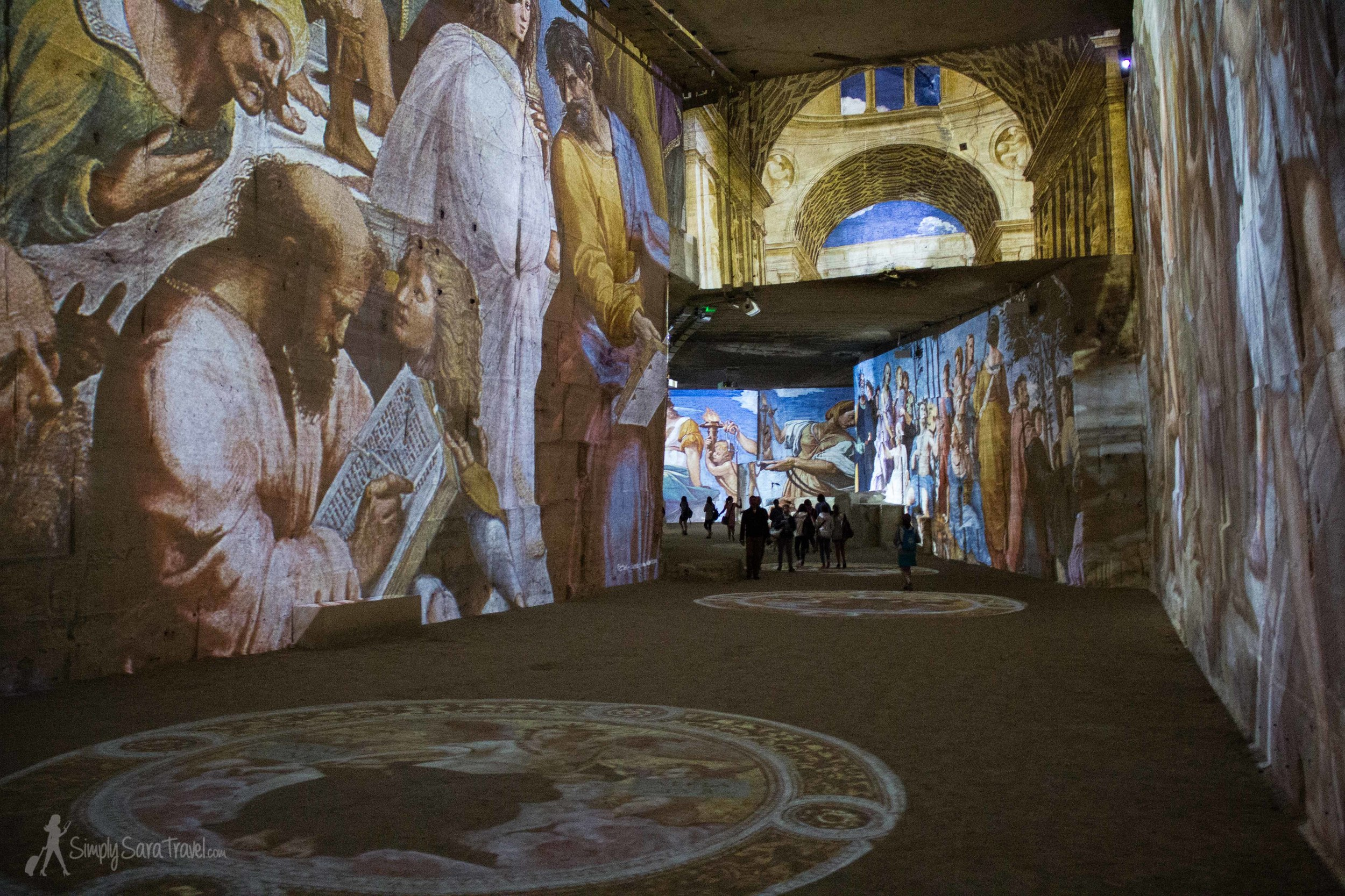 The stone quarry may seem like an odd addition to the list - but the Carrières de Lumières exhibition in the town of  Les Baux-de-Provence gives a twist to walking around some mines.