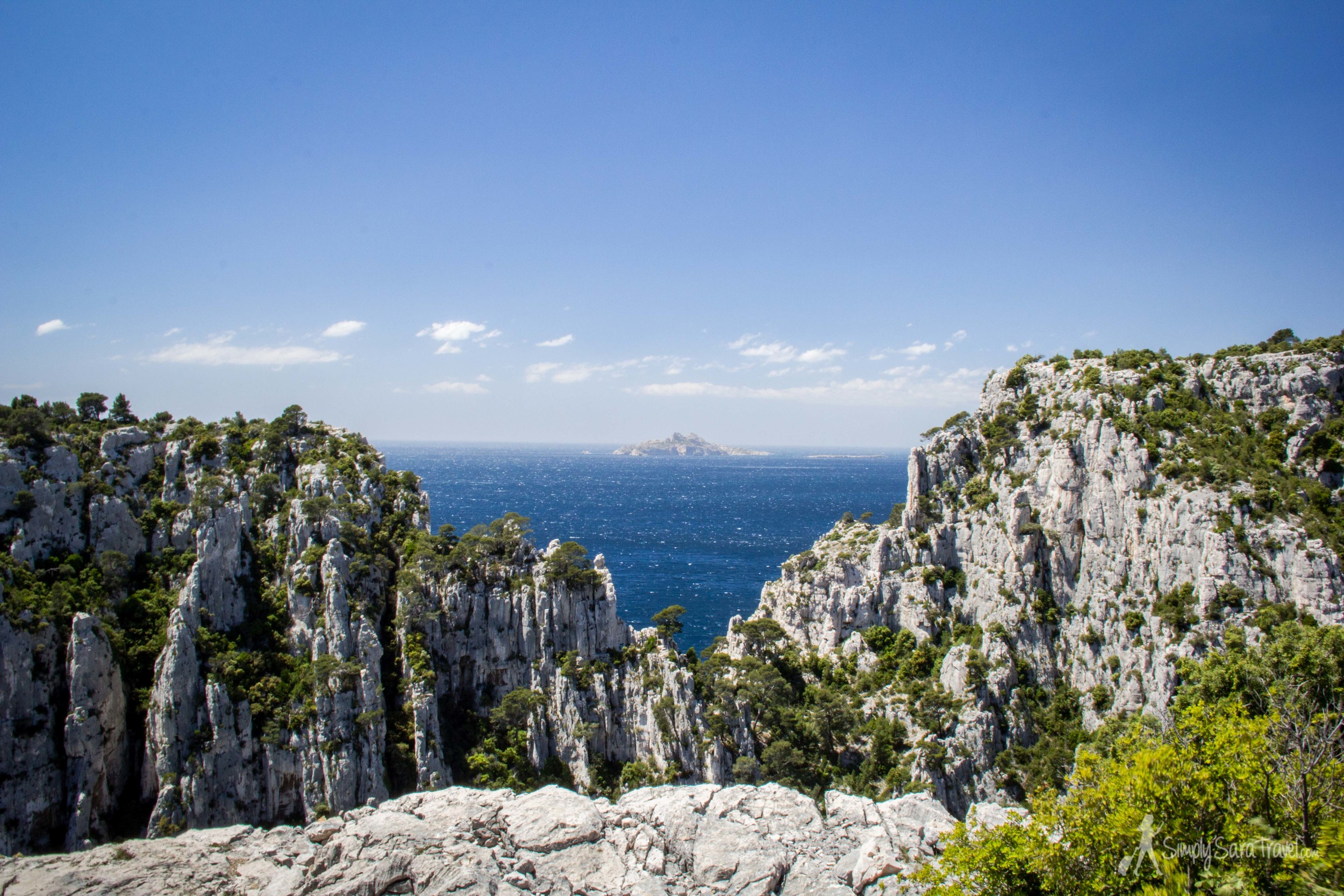 More than half of this hike was done despite great hunger (we were holding out to eat our picnic lunch on the third of the Calanques, named En Vau) - and even though it was hard to push on, with views like this, it still easily was the top on our list out all ALL the sightseeing we did in a month!
