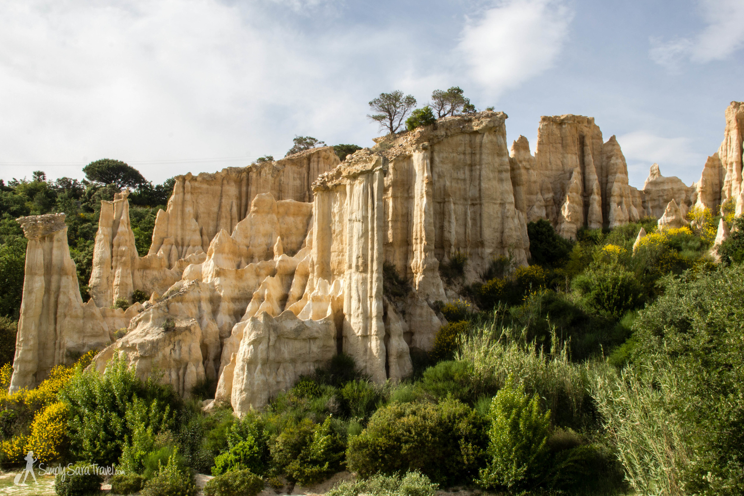 Can you believe this exists in France? It looks a bit like Utah's Bryce Canyon, but this is Les Orgues d'Ille-sur-Têt, over in Languedoc.