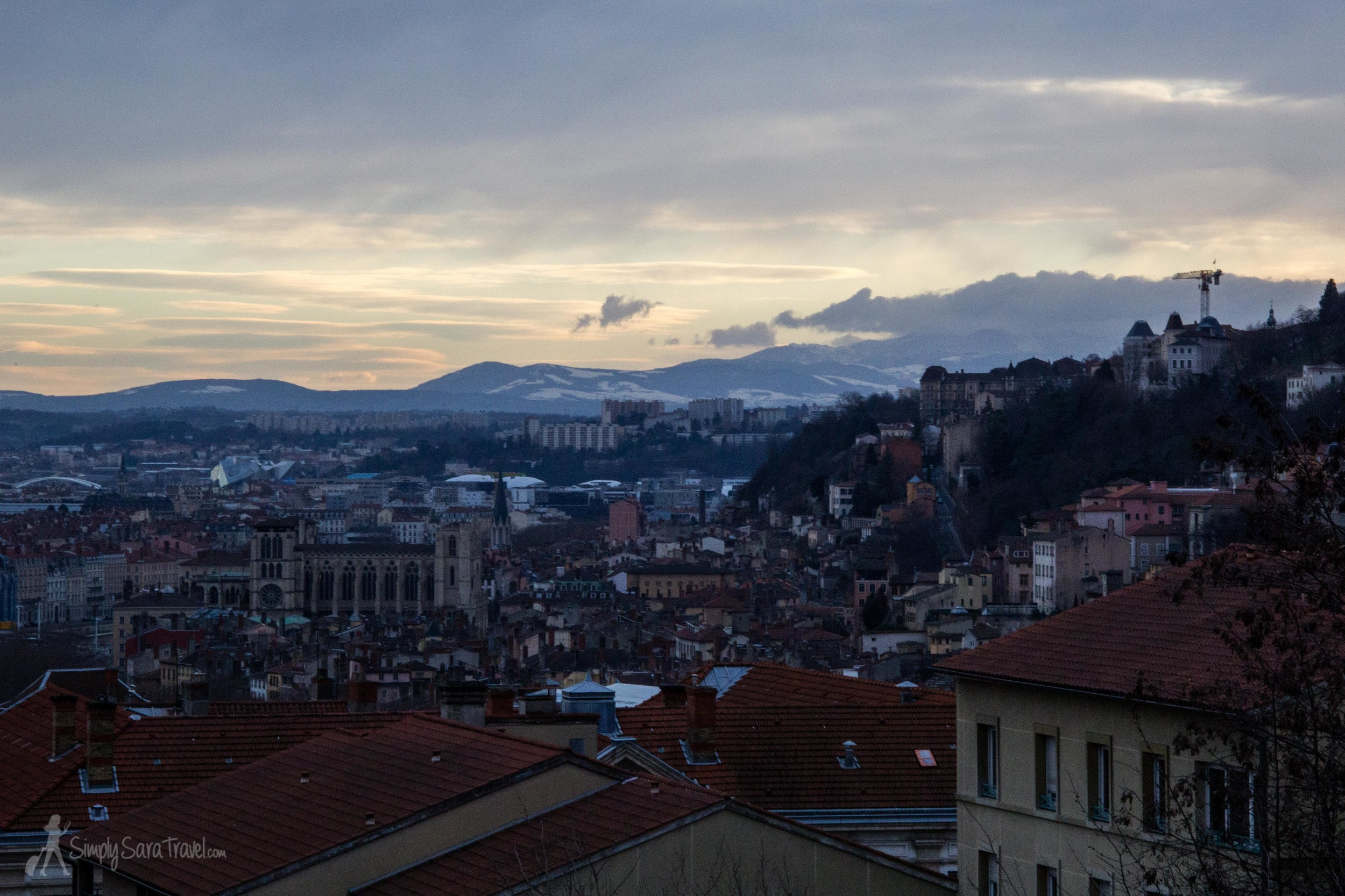 Thankfully the food capital of France is a bit hilly, makes exploring and exercise go hand-in-hand! [Lyon, France]