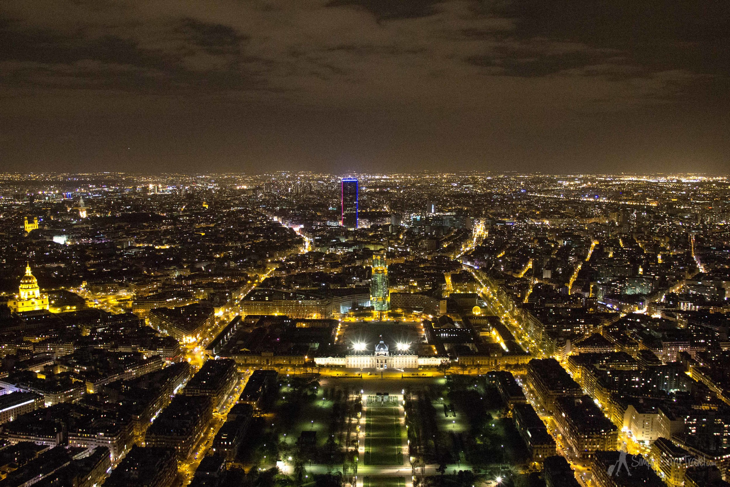 Another bonus - apparently the Eiffel Tower is almost completely empty on a winter evening. Dress for some wind and enjoy the (almost) private view!