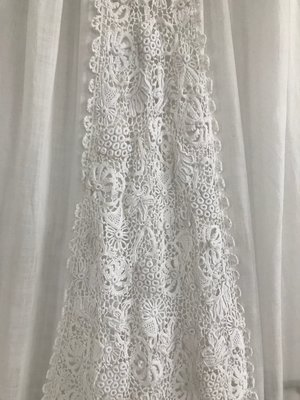 Antique Irish Crochet Lace Christening Gown Sheelin Lace,Nordstrom Wedding Dresses For Mother Of The Groom
