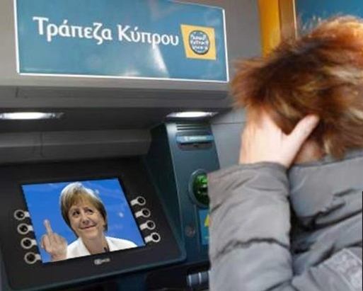Why are Cypriot ATM's throwing out so many Portuguese printed Euro's?