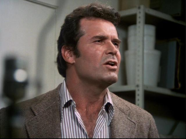 Jim Rockford: This is Jim Rockford. At the tone leave your name and message, I'll get back to you. Sales Rep.: [Beeep] This is Globe Publications. Our records show you have not returned your free volume of the Encyclopaedia of Weather, so we'll be sending you the remaining 29 volumes - you'll be billed accordingly.