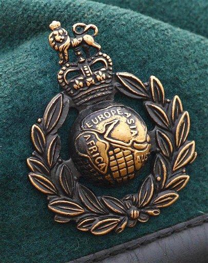 Britain Afghanistan Marines