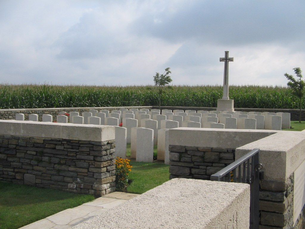 New Munich Trench Cemetery, Beaumont-Hamel