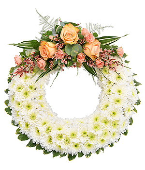 Classic Bedded Wreath