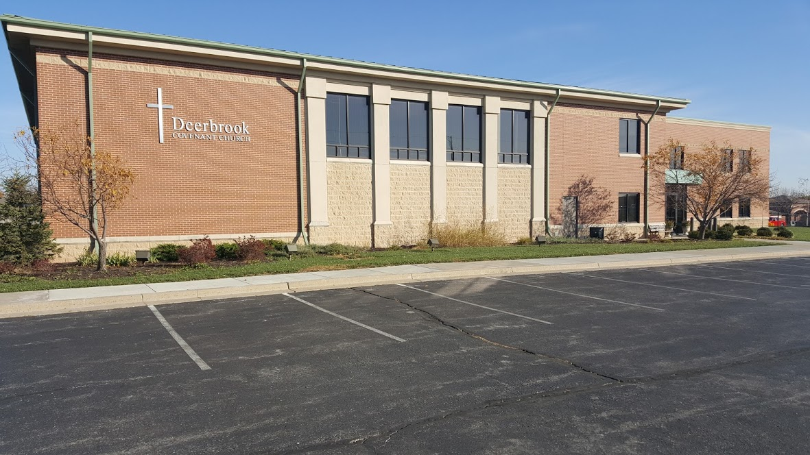 Deerbrook Covenant Church is located at 200 NE Tudor Road, in lovely Lee's Summit, MO 64086 - across the street from Lee's Summit North High School near the intersection of Tudor and Douglas Roads.