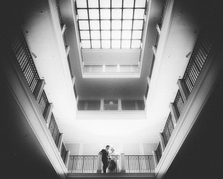 Hochzeitspaar in der Eingangshalle - Grand Hotels Heiligendamm