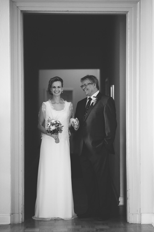 Braut und Brautvater Wedendorf