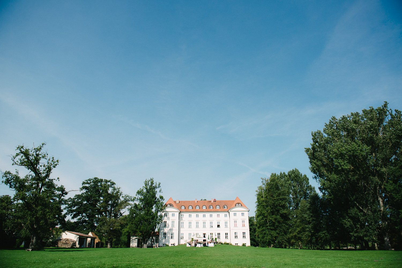 Traaung im freien draussen Schloss Wedendorf