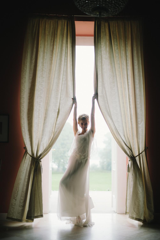 Braut Hochzeitsfoto Schloss Wedendorf