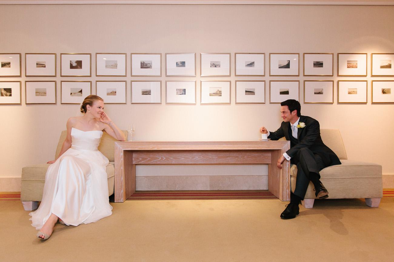 Hochzeitspaar im Grand Hotel Heiligendamm