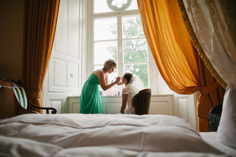 Hochzeit Make Up Schloss Schlemmin