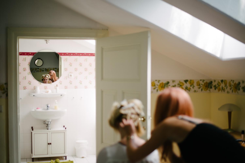 Vorbereitungen Hochzeit Gross Siemen