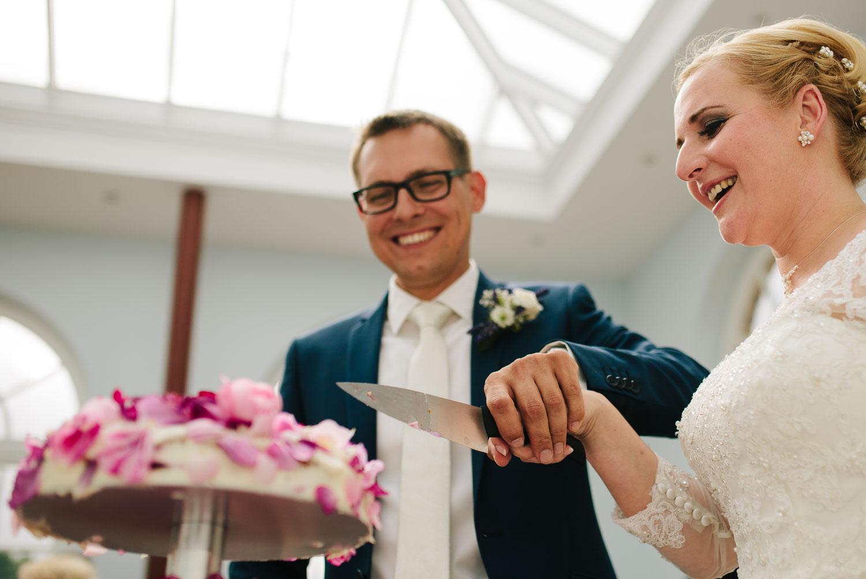 Hochzeitspaar Torte Siemen