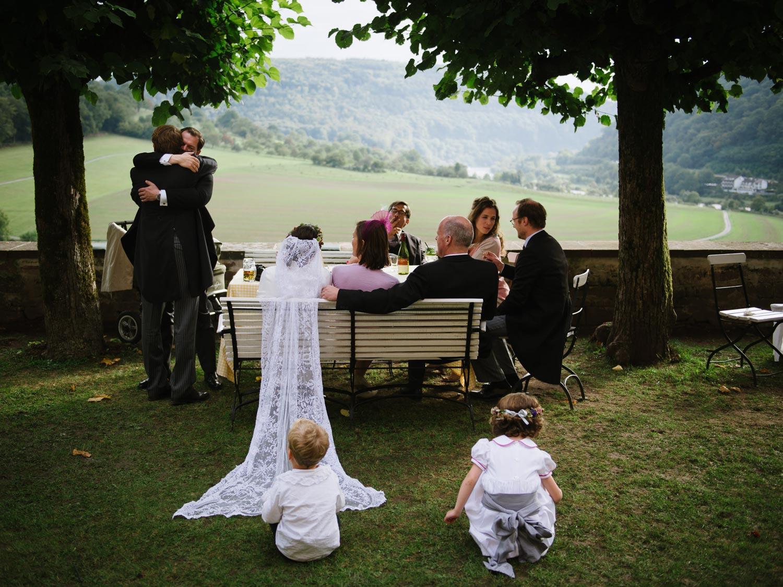 Hochzeitsfotograf aus Rostock - Sektempfang